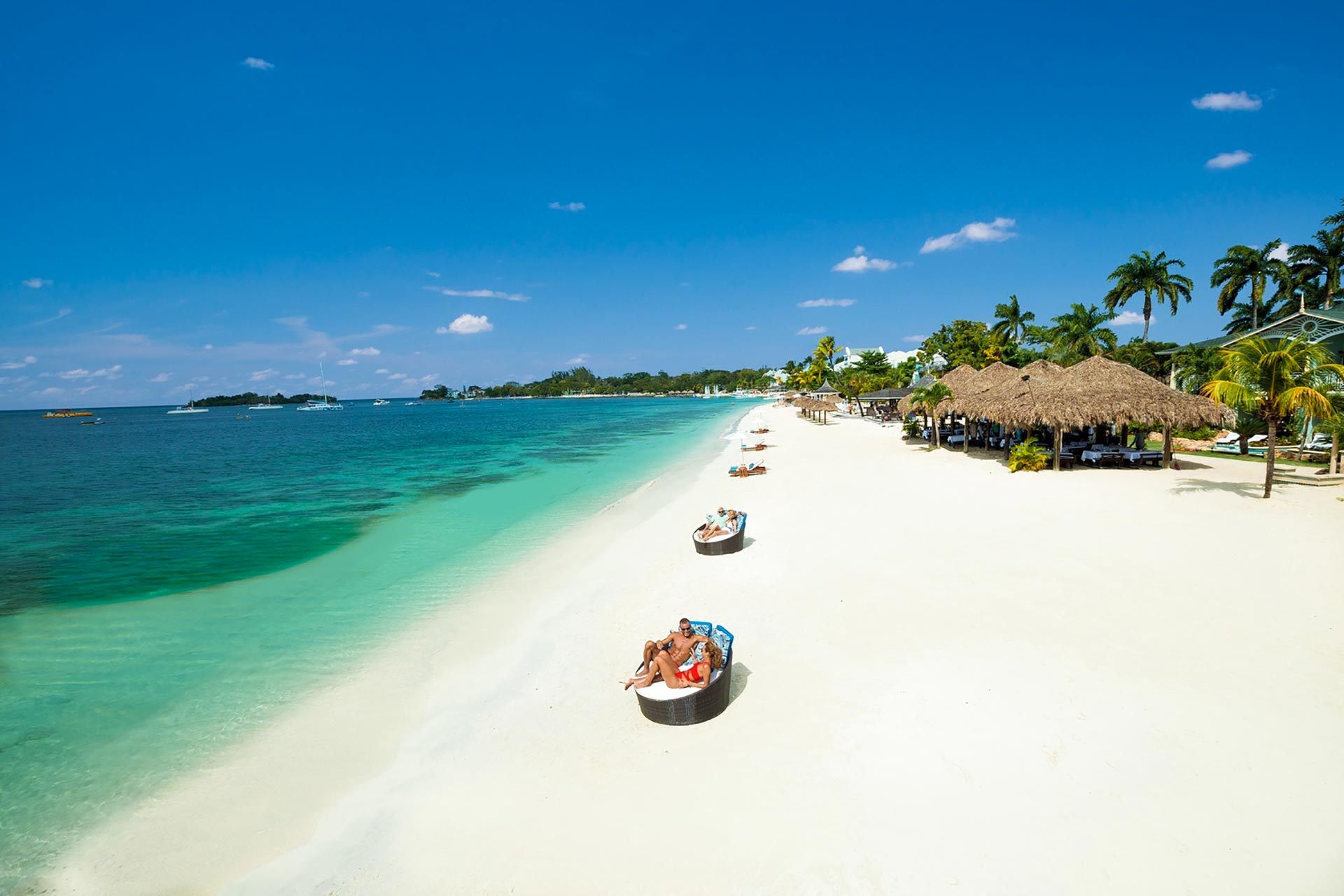 Sandals all-inclusive resort in Negril