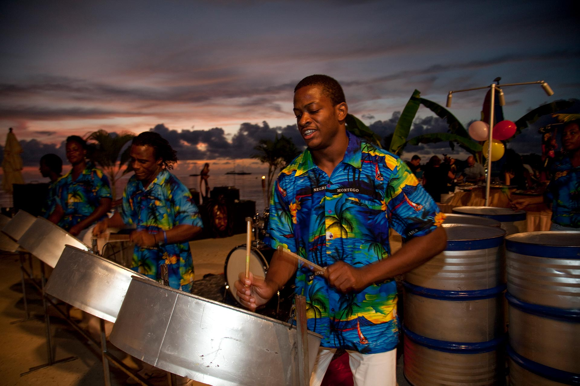 steel drums Jamaica