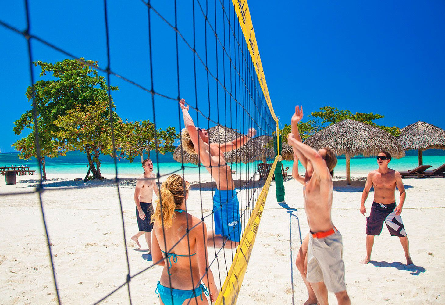 beach volleybal resort