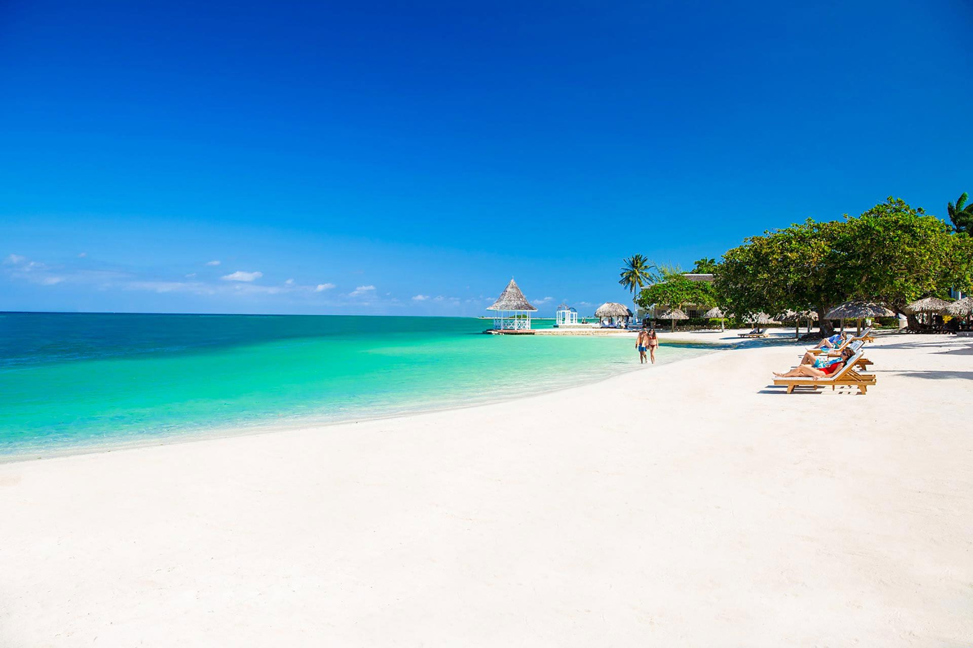 seven mile beach jamaica