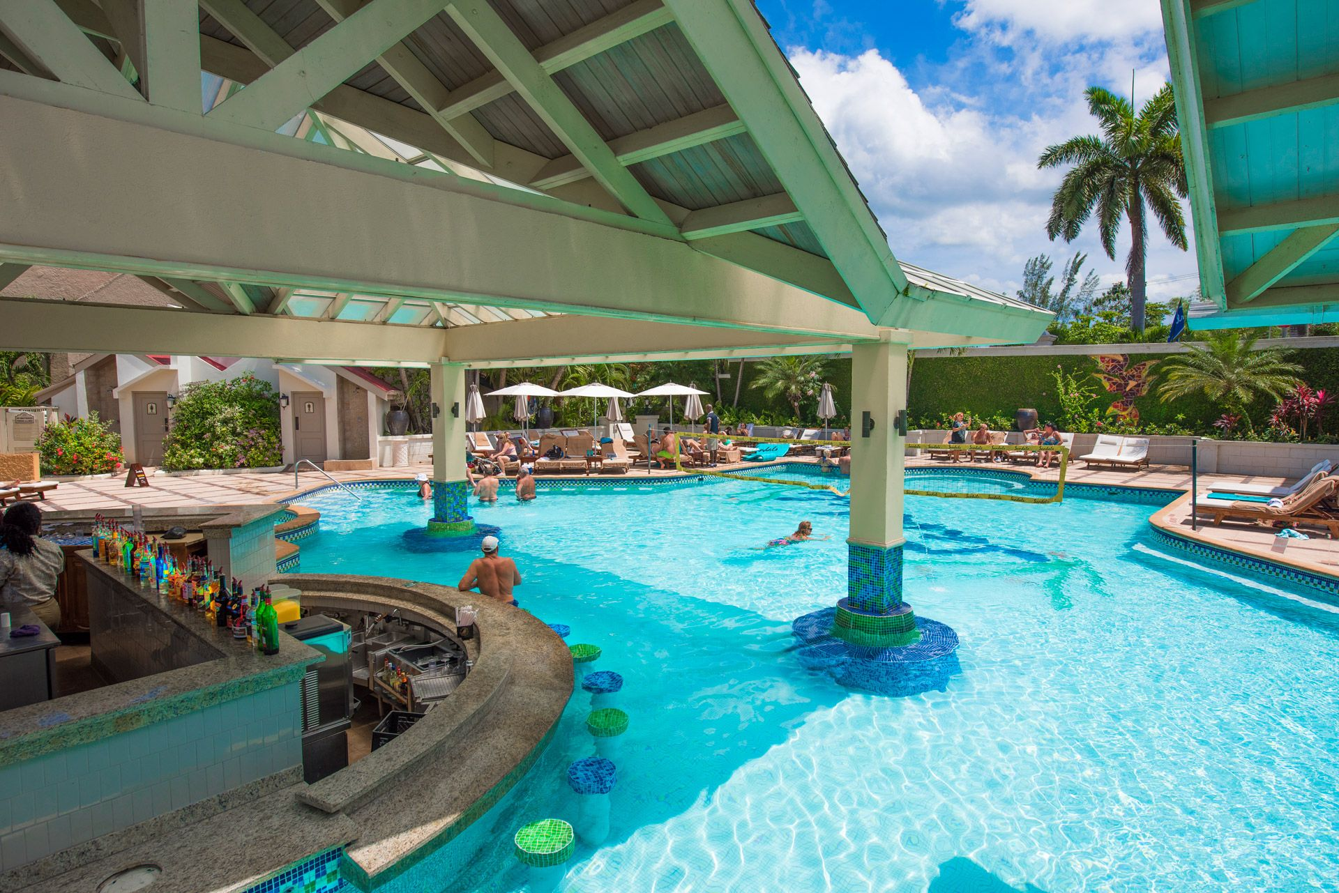sandals negril swim up bar