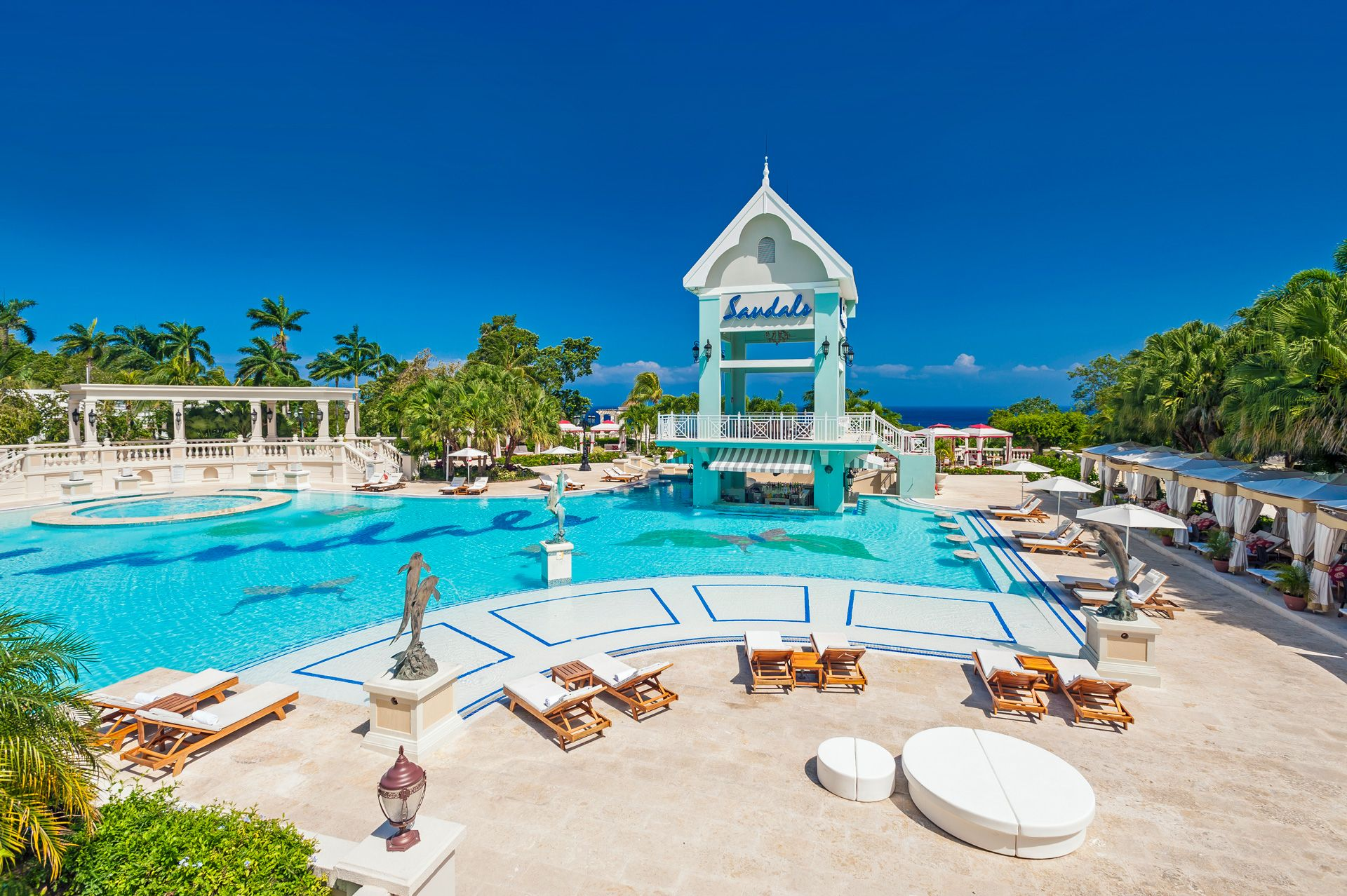 sandals ochi swim up bar