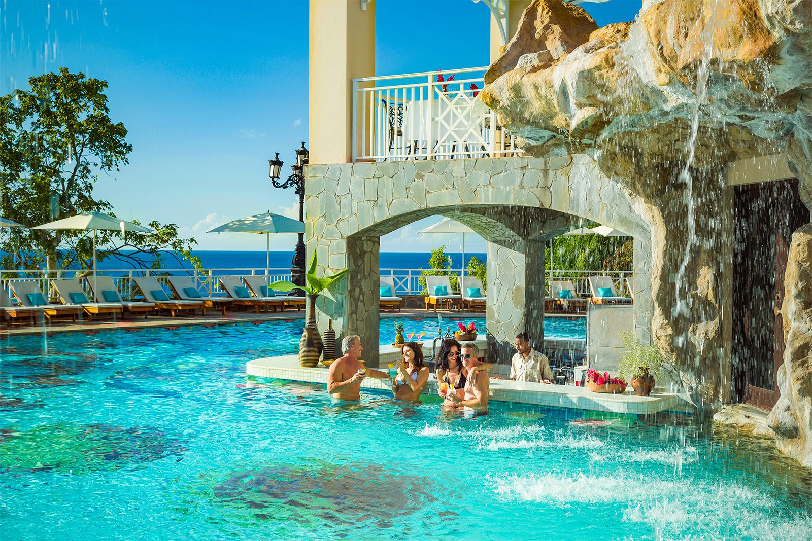 sandals regency la toc swim up bar