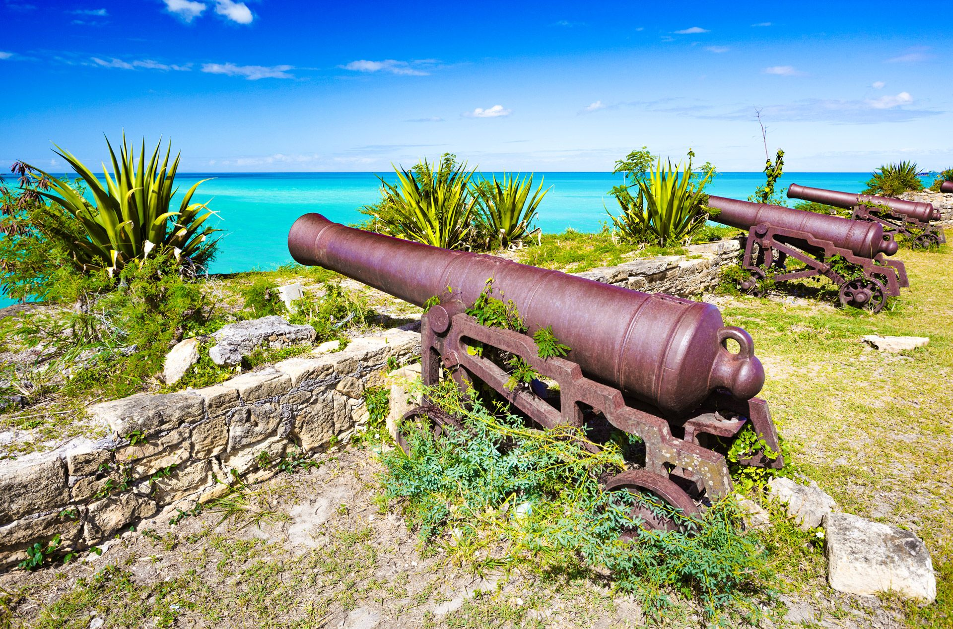 Cannon at Fort James Antigua