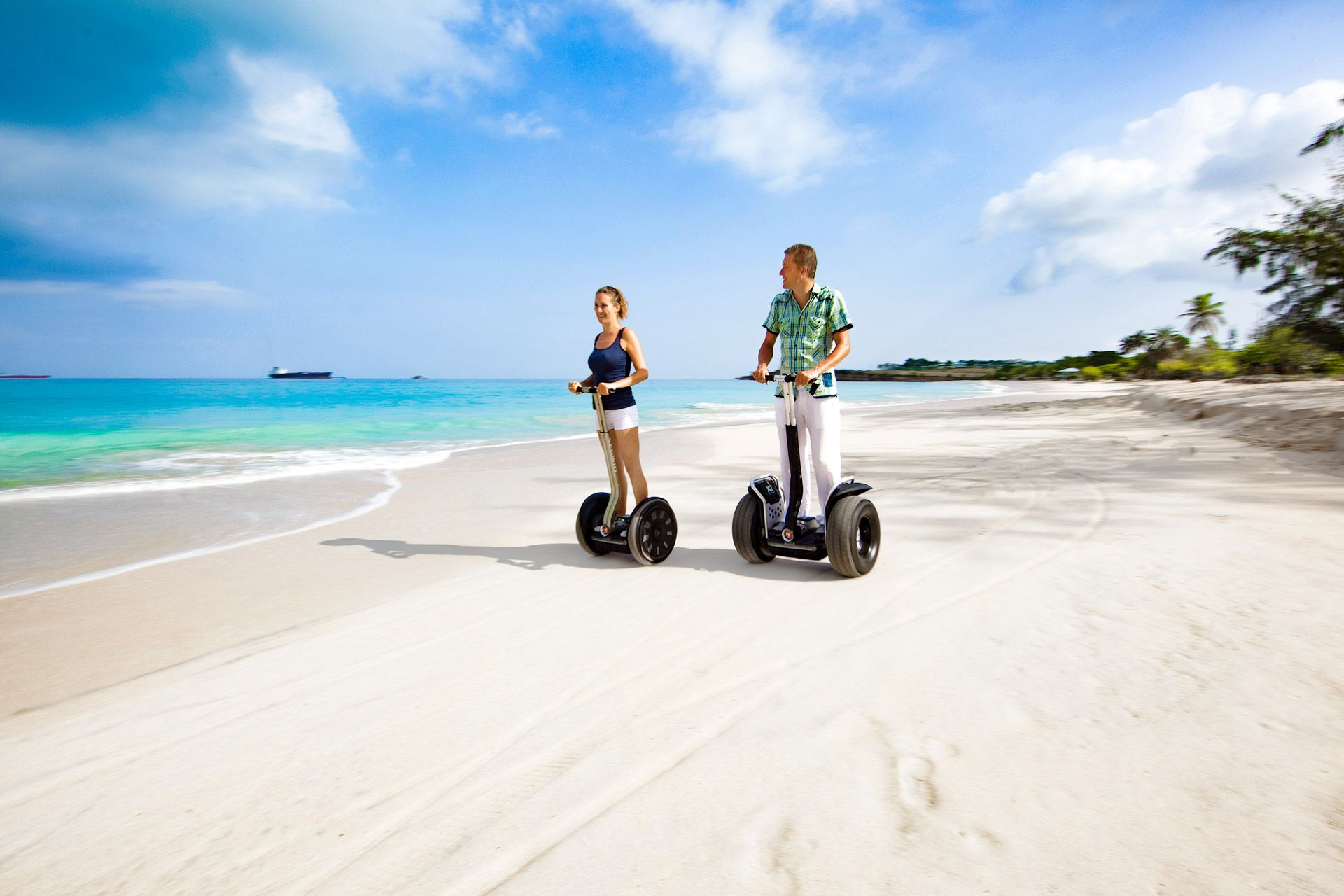 Island routes segway tour Antigua