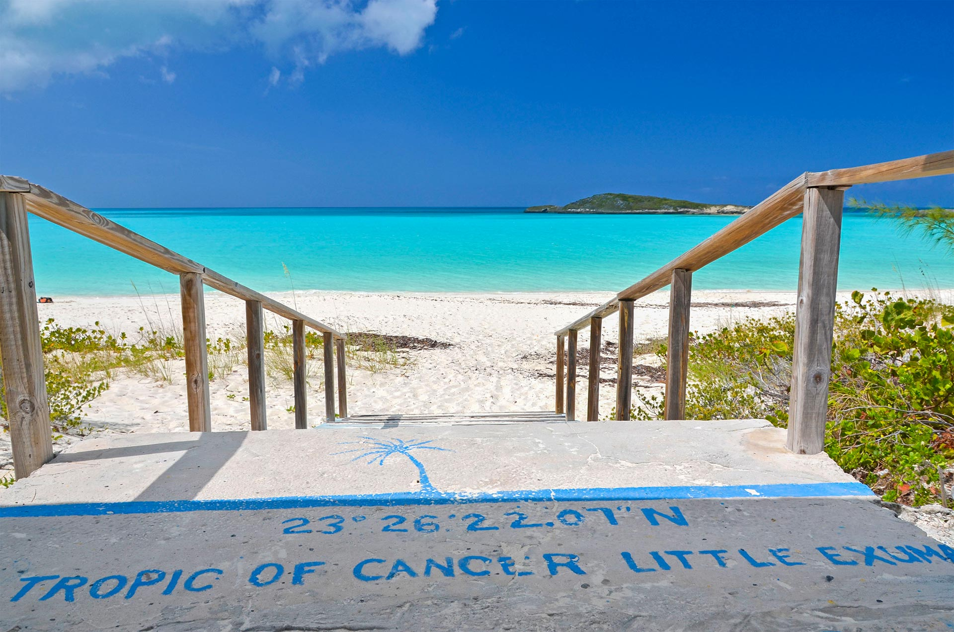 tropic cancer beach exuma