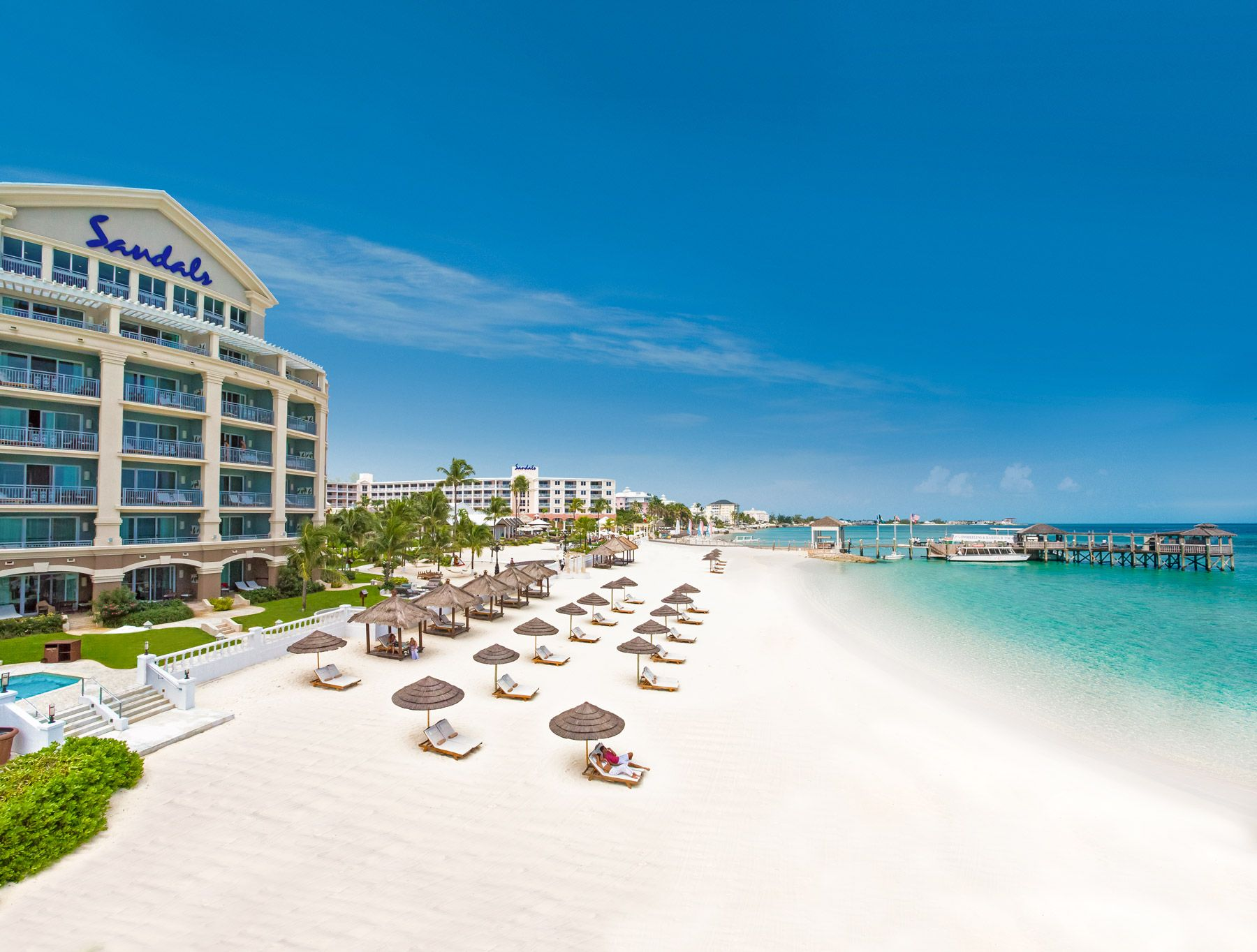 Three things guests love about... Sandals Royal Bahamian. A full review.