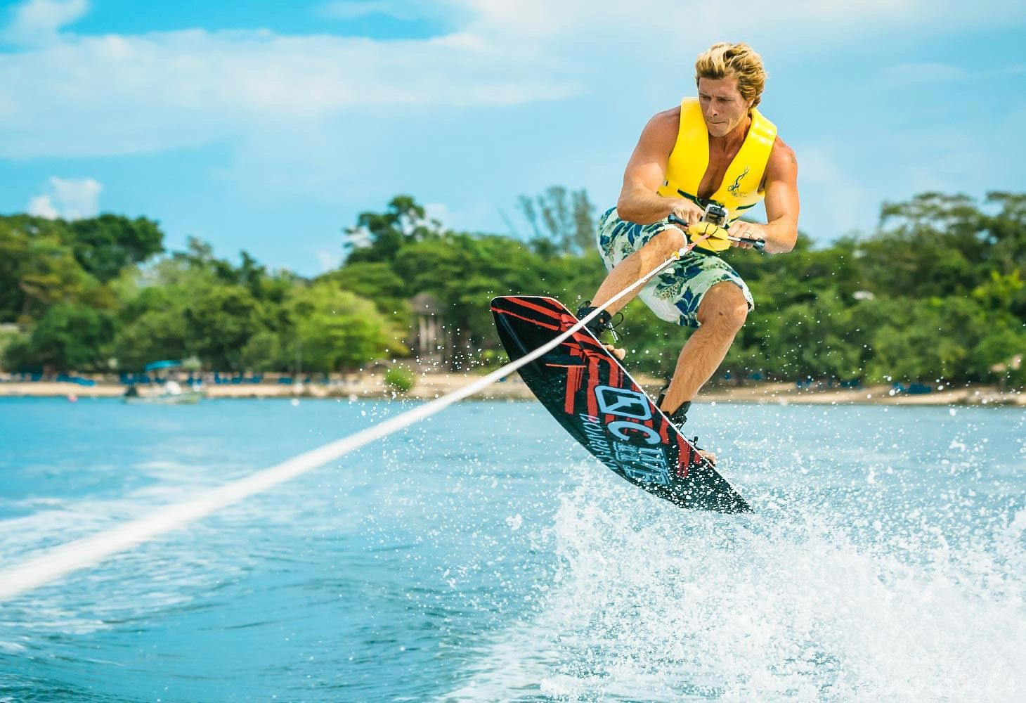 all inclusive resort with wake boarding