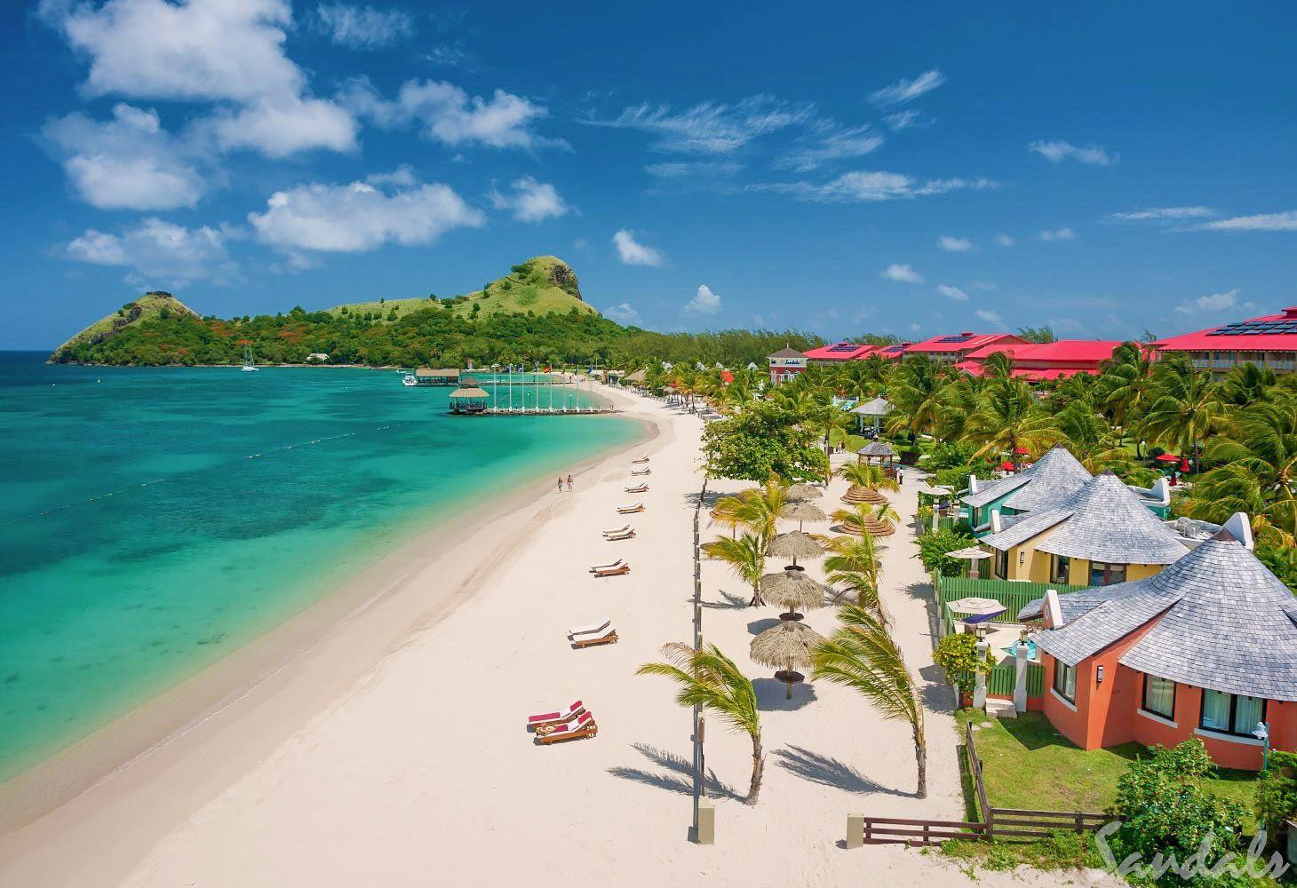 sandals grande saint lucian beach resort
