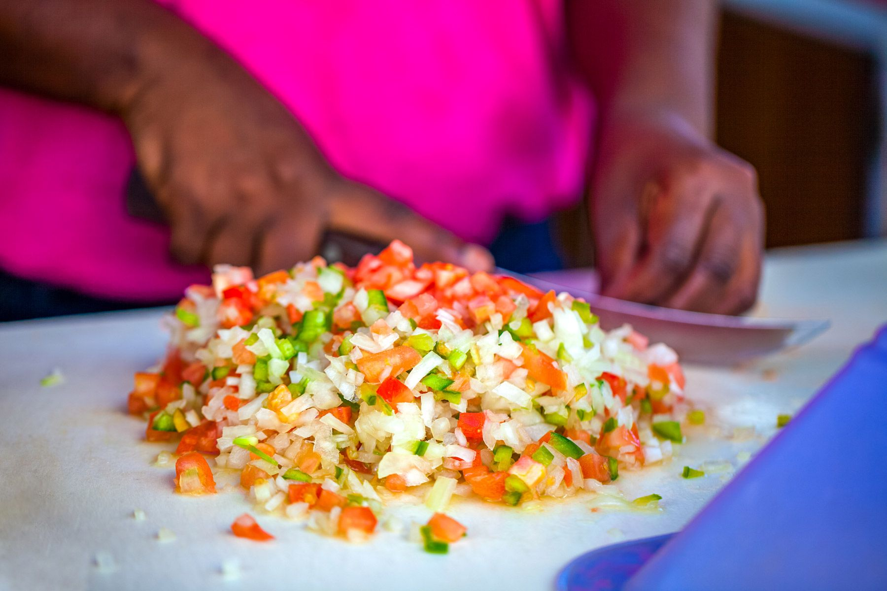 Conch salad Bahamas