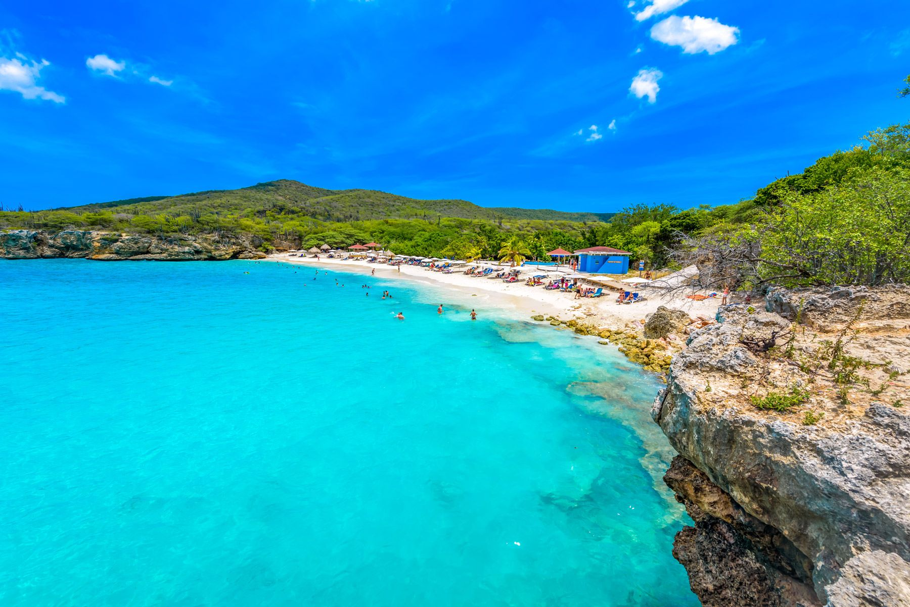 Grote Knip Beach Curacao Netherlands Antilles