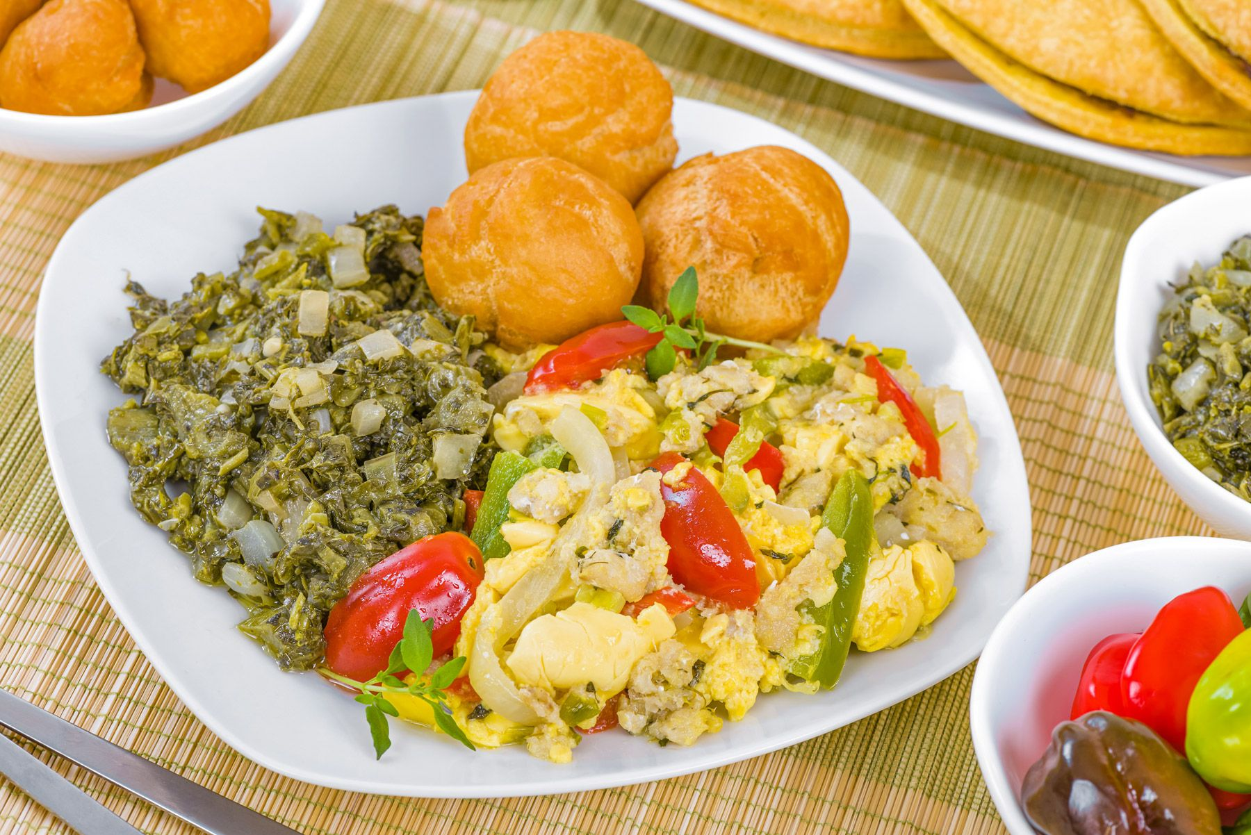 Traditional Jamaican Ackee and Saltfish