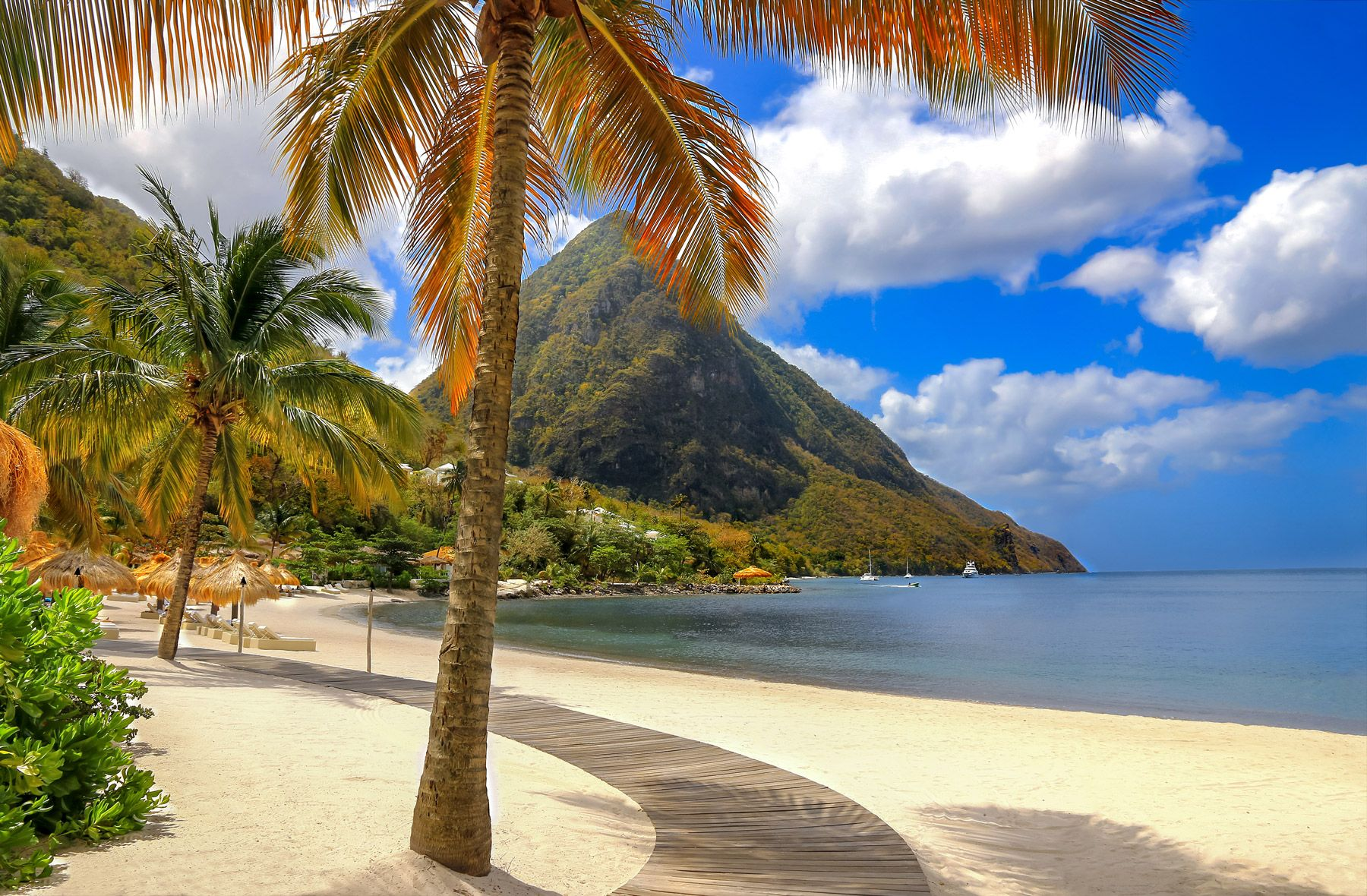 Jalousie Plantation Beach Saint Lucia