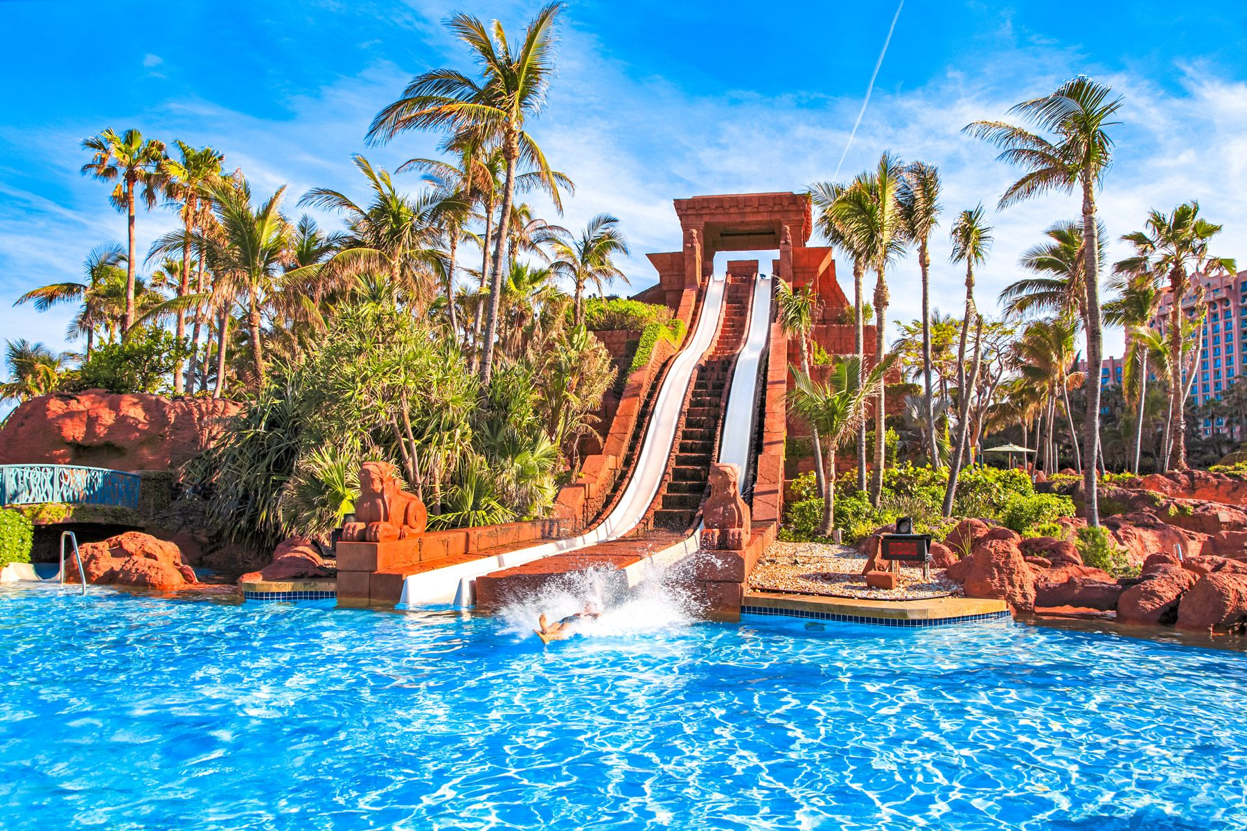 aquaventure waterpark Paradise Island The Bahamas