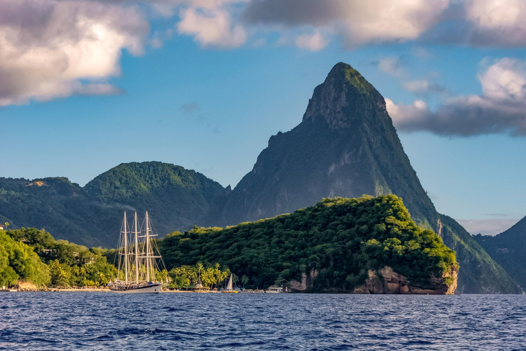 Pitons Saint Lucia Anse Chastanet