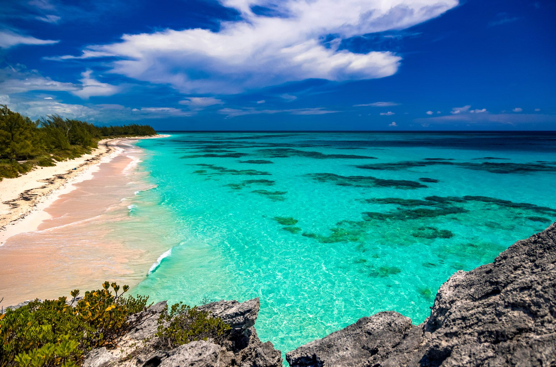 lighthouse beach south eleuthera island bahamas