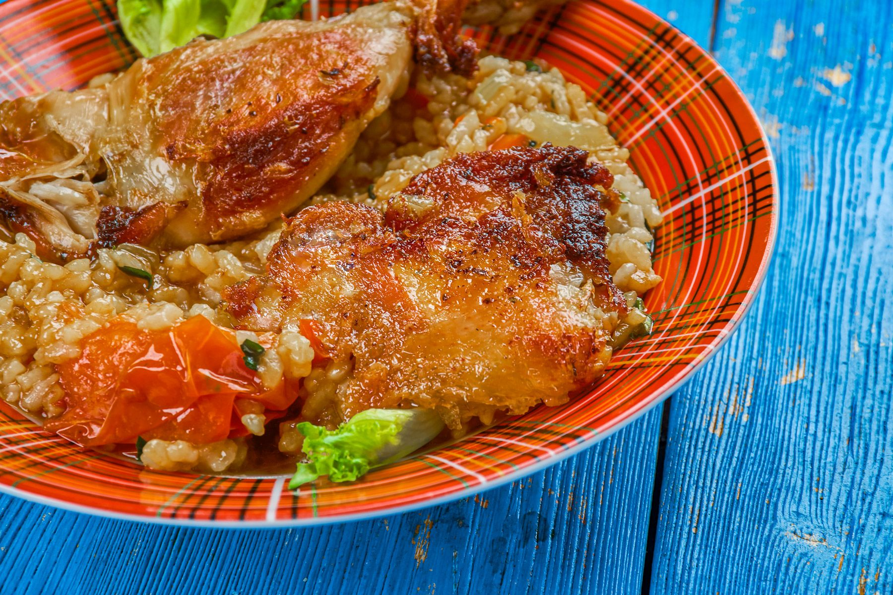 Caribbean One Pot Dish Jerk Chicken Rice