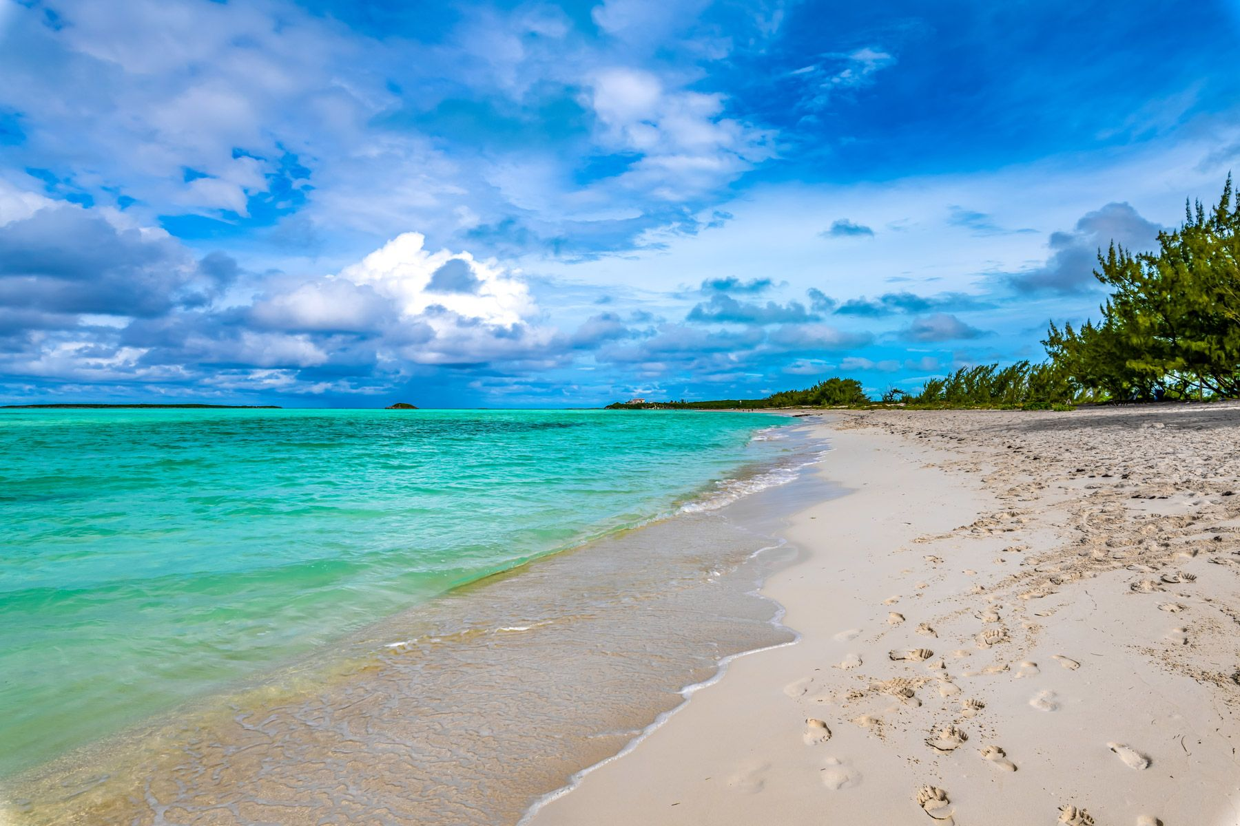 Coco Plum Beach Great Exuma Bahamas