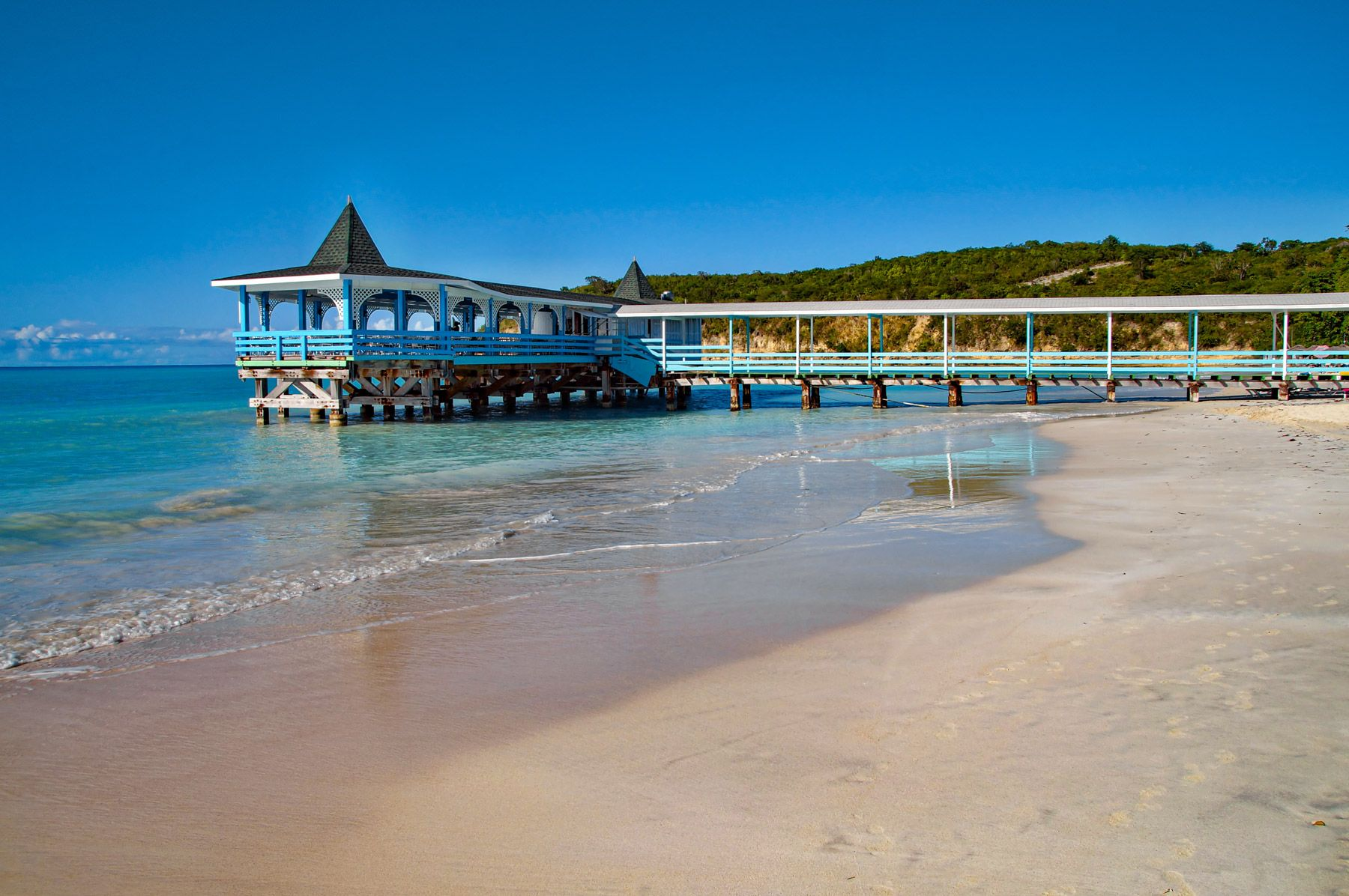 Warri Pier at Dickenson Bay Antigua