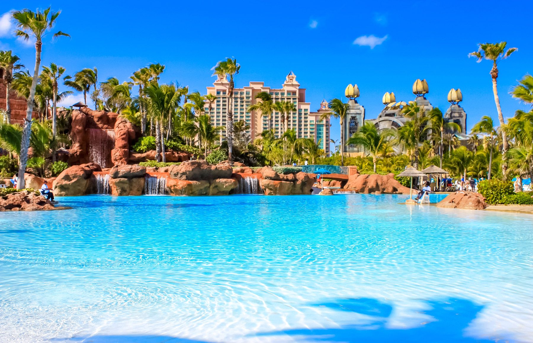 big pool on paradise island