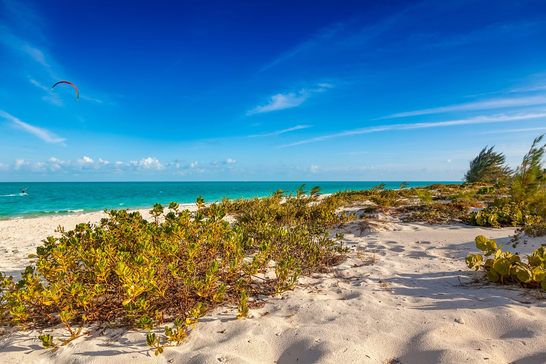 Long Bay Beach Providenciales Turks and Caicos