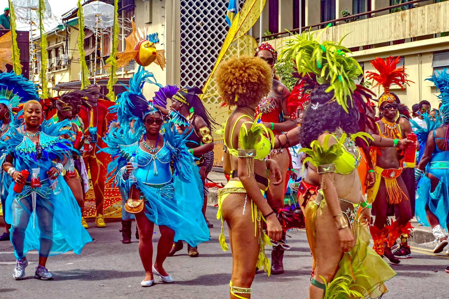 carnival st lucia
