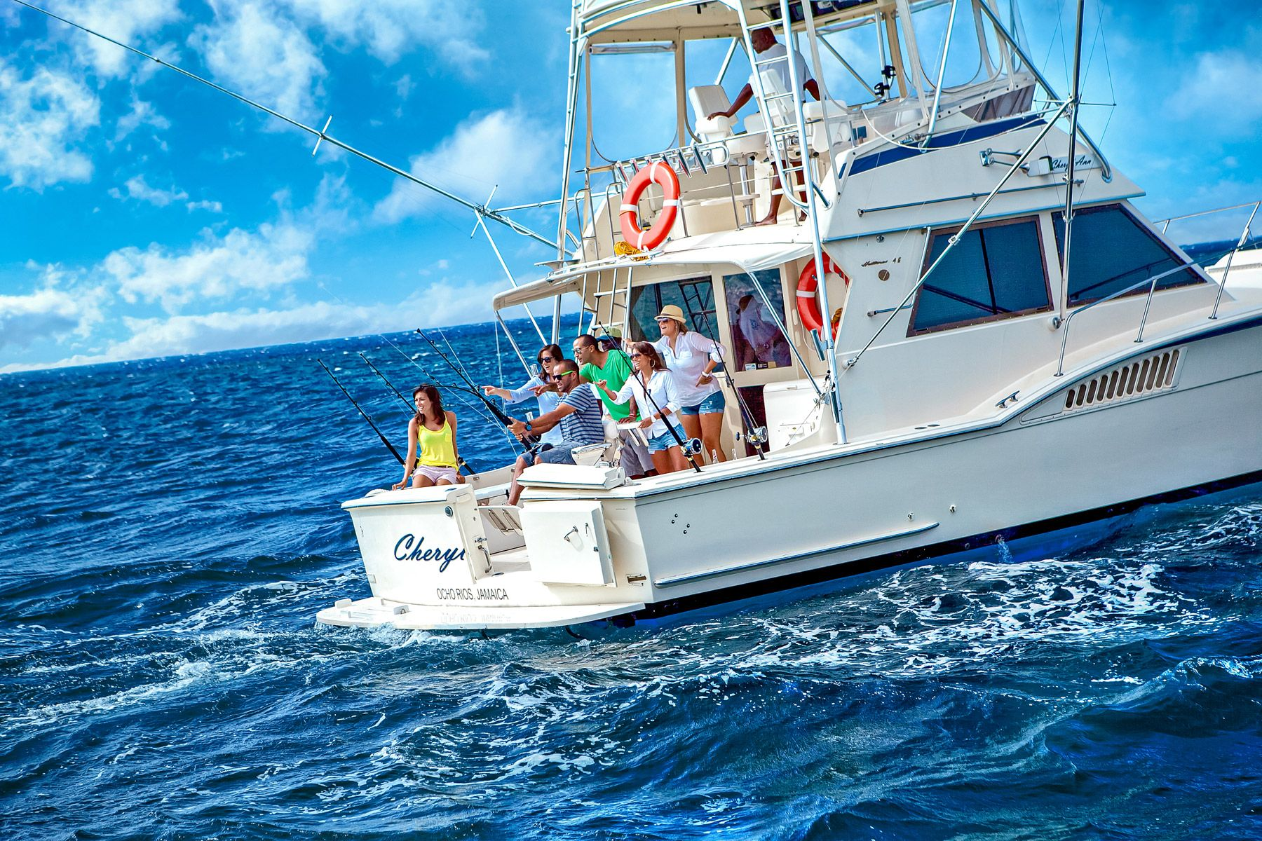 deep sea fishing boat grenada