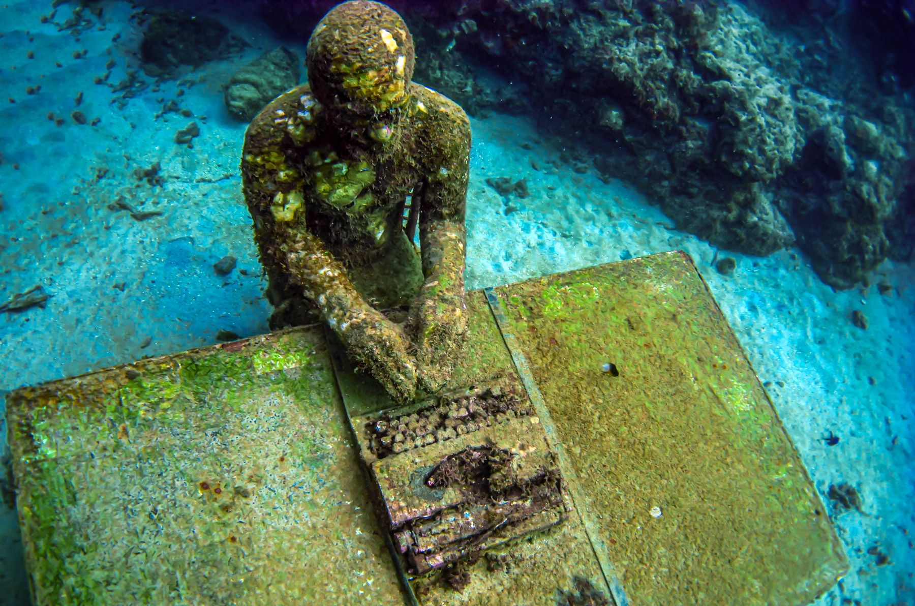 Grenada Underwater Sculpture Park the lost correspondent