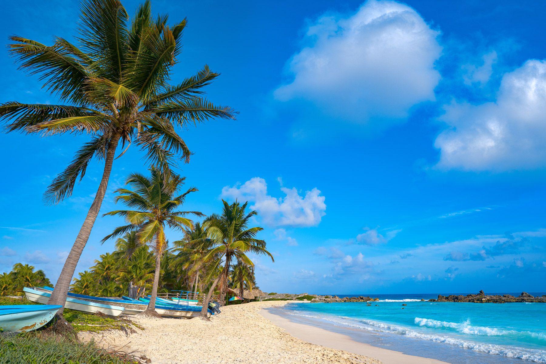 Chen Rio beach Cozumel island Riviera Maya