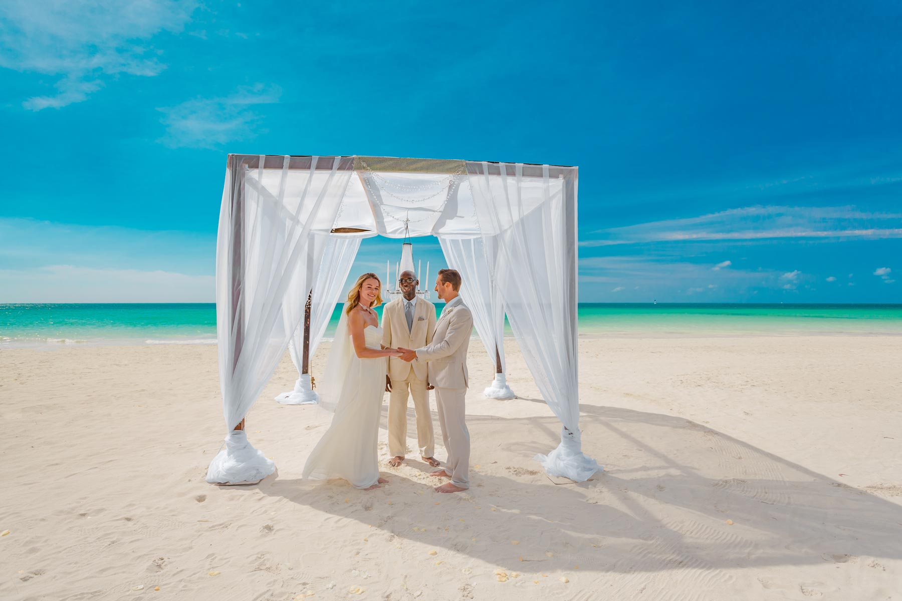 Beaches Negril BNG Beachfront Wedding