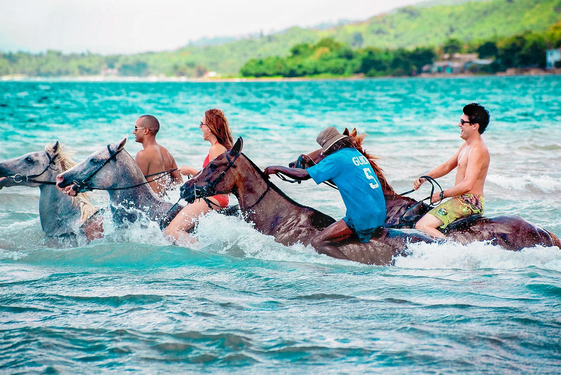 Horseback Ride Swim Montego Bay Jamaica