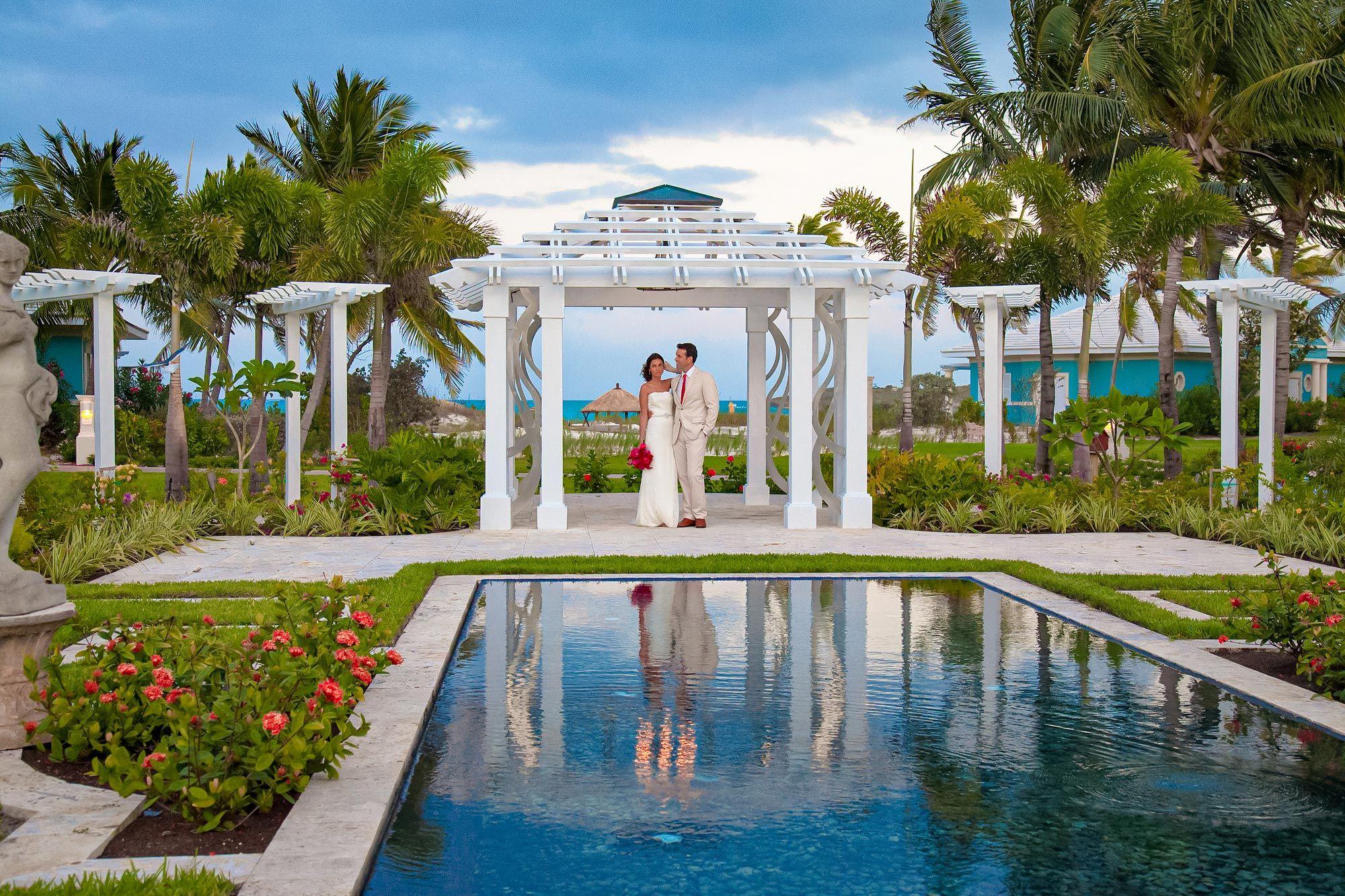 Sandals Emerald Bay Garden Gazeebo Wedding