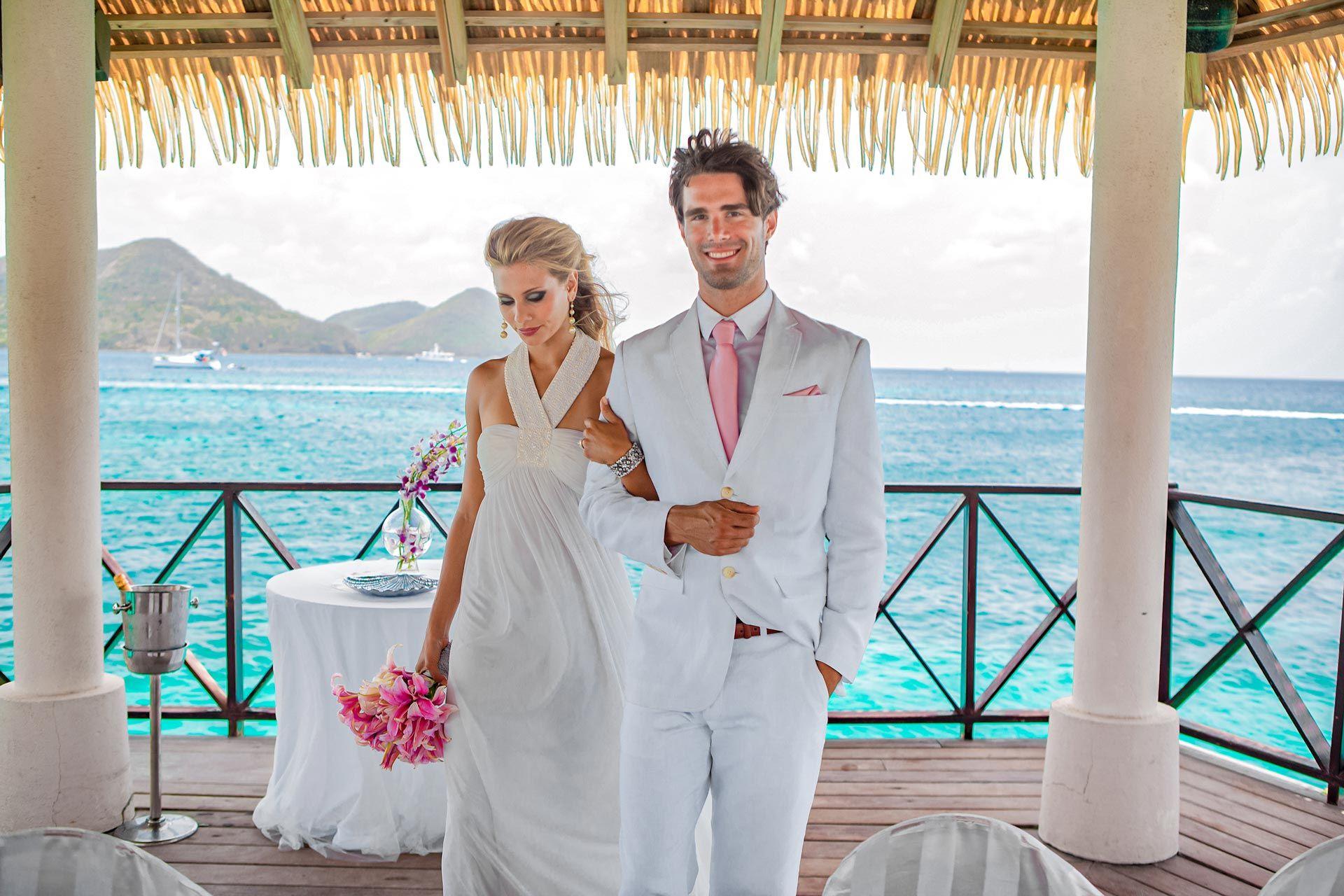 Sandals Grande St Lucian Oceanfront Wedding