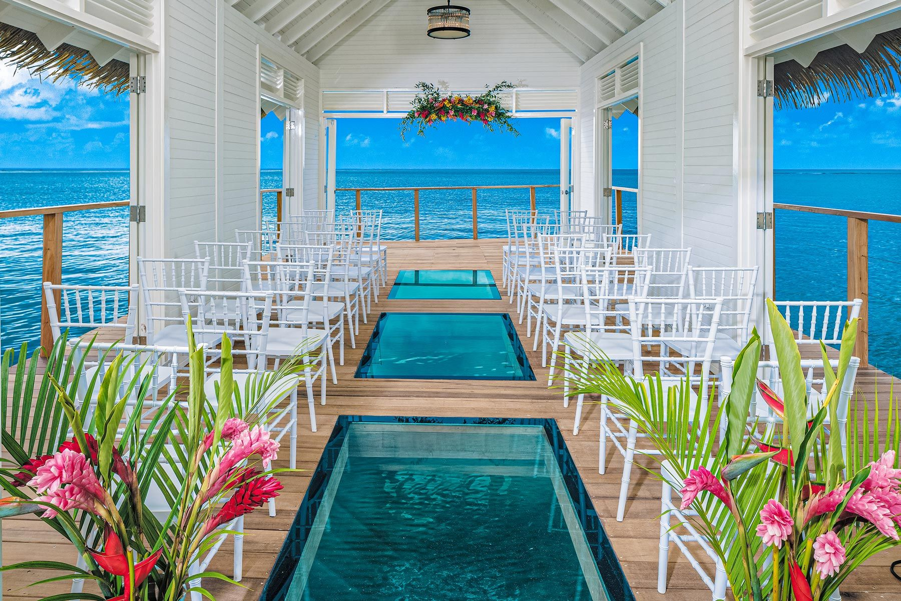 Sandals South Coast Over the Water Wedding Chapel