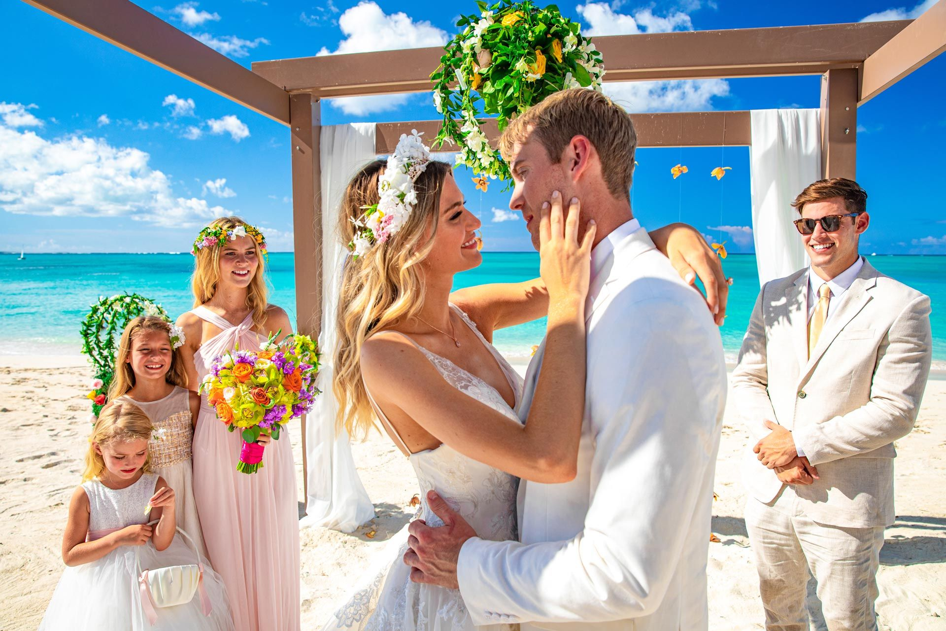 beaches turks and caicos wedding beach