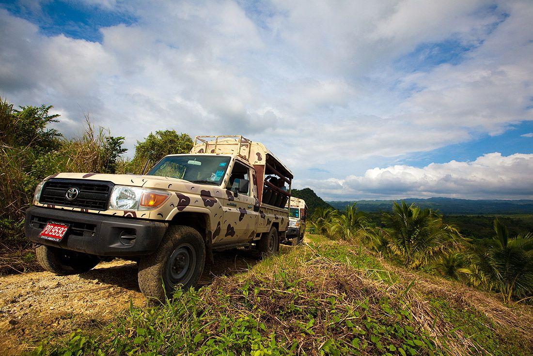 4x4 Safari Tour Negril Jamaica