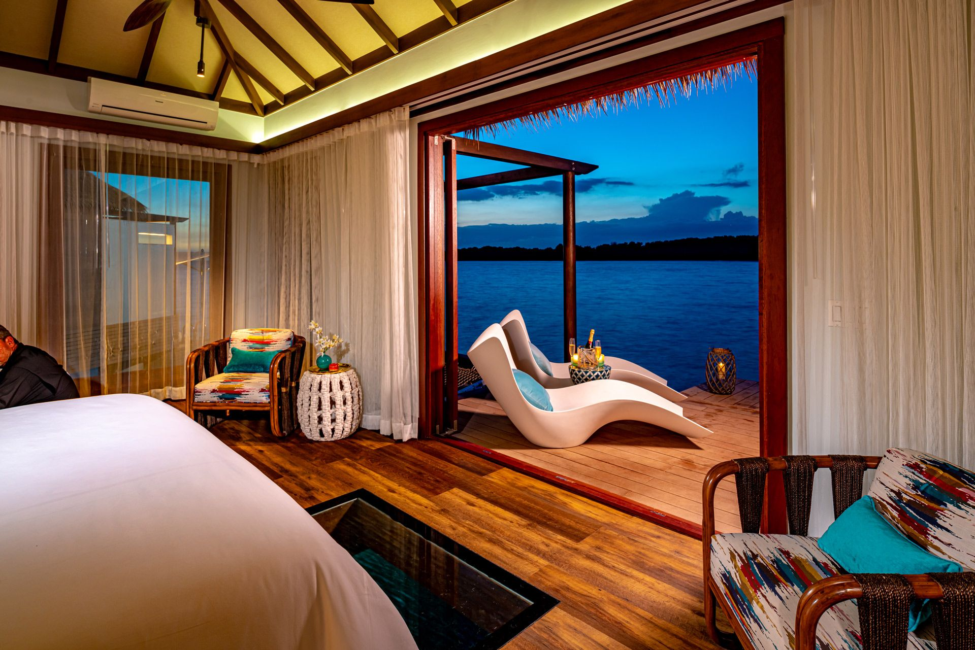 SWH Over Water Bungalow Inside