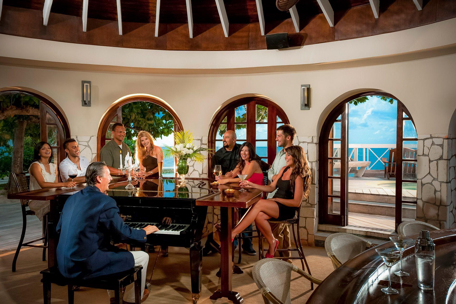 Sandals Montego Bay Piano Bar