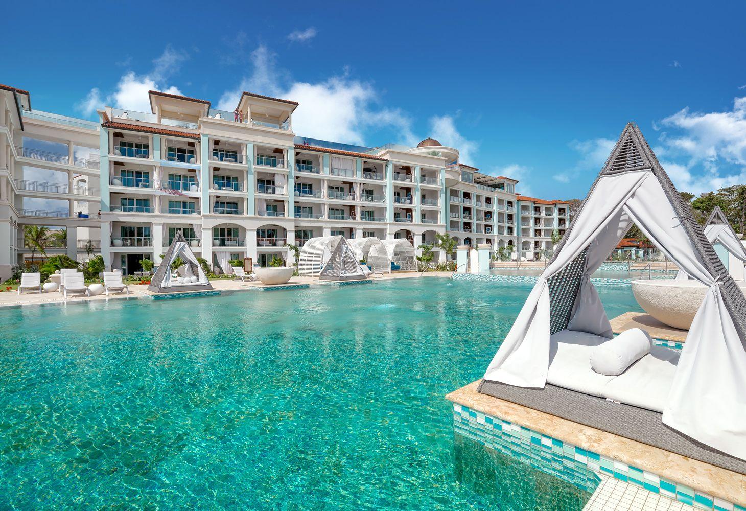 Sandals Royal Barbados Main Pool