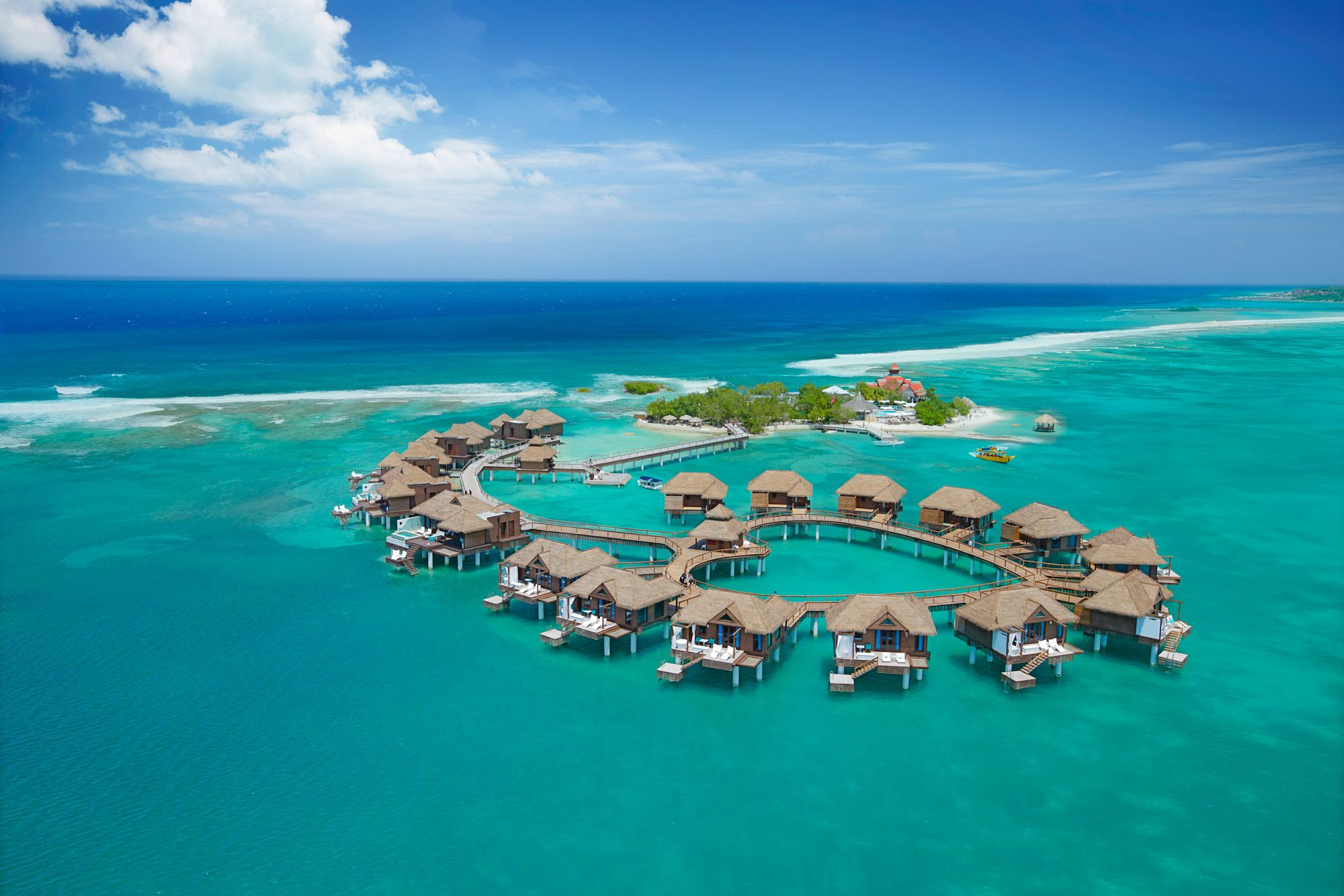 Sandals Royal Caribbean Private Island Over Water Bungalows