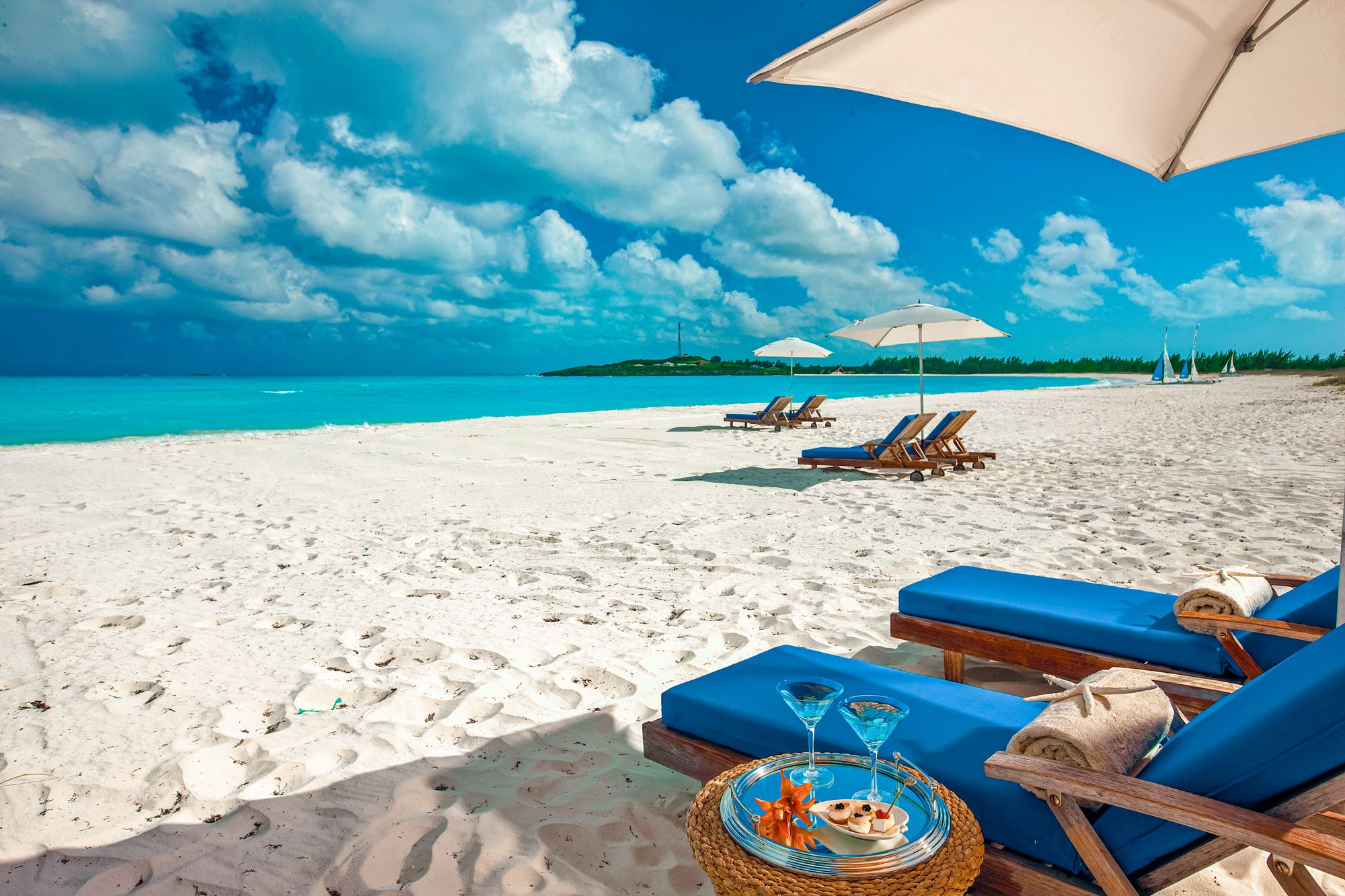 Sandals Emerald Bay Bahamas Beach Chairs