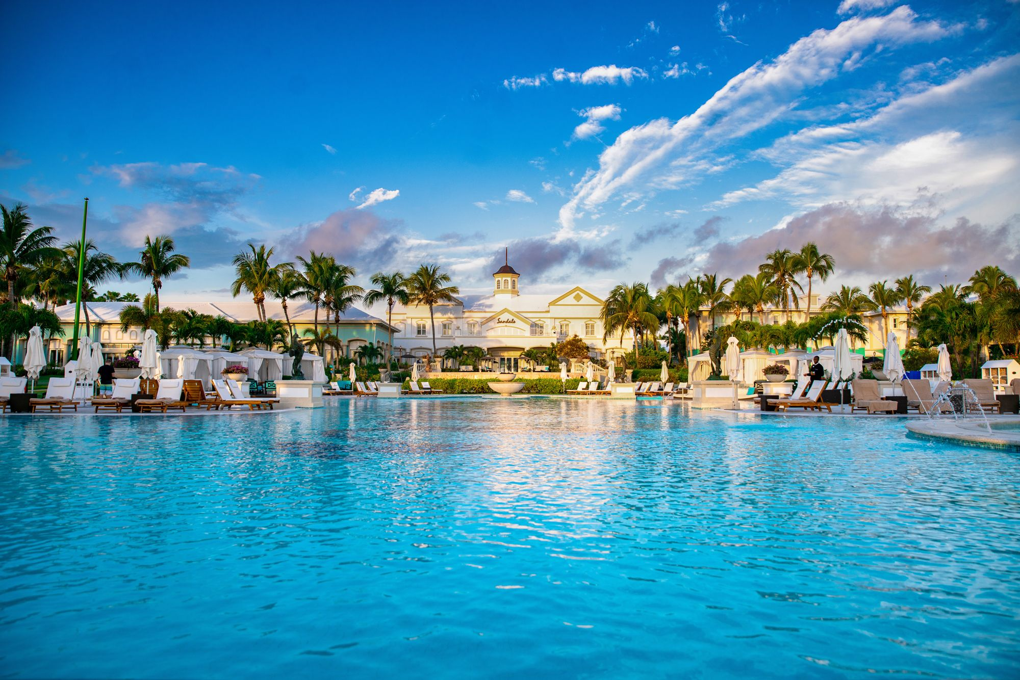 Sandals Emerald Bay Bahamas Main Pool