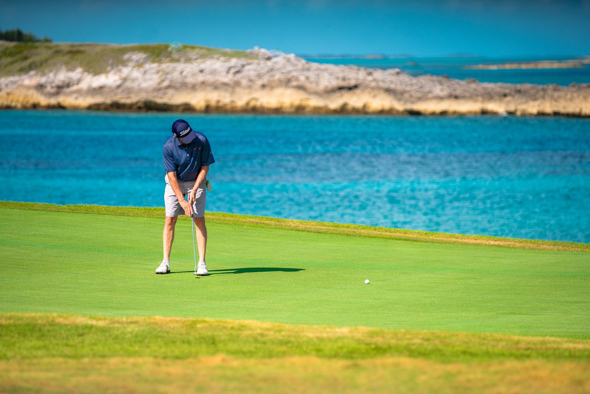 Sandals Emerald Bay Golf Green