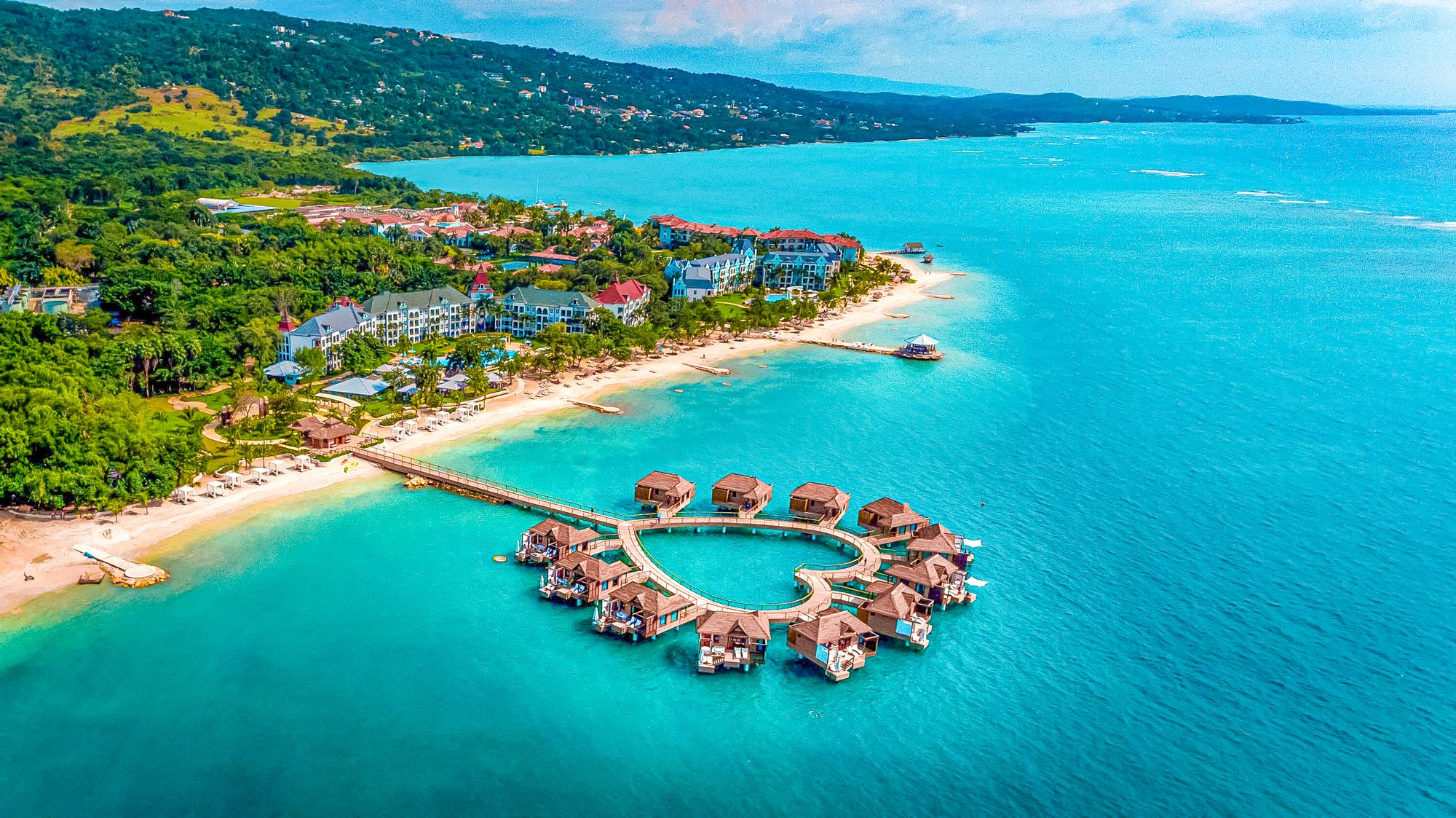 Sandals South Coast Jamaica Over Water Bungalows