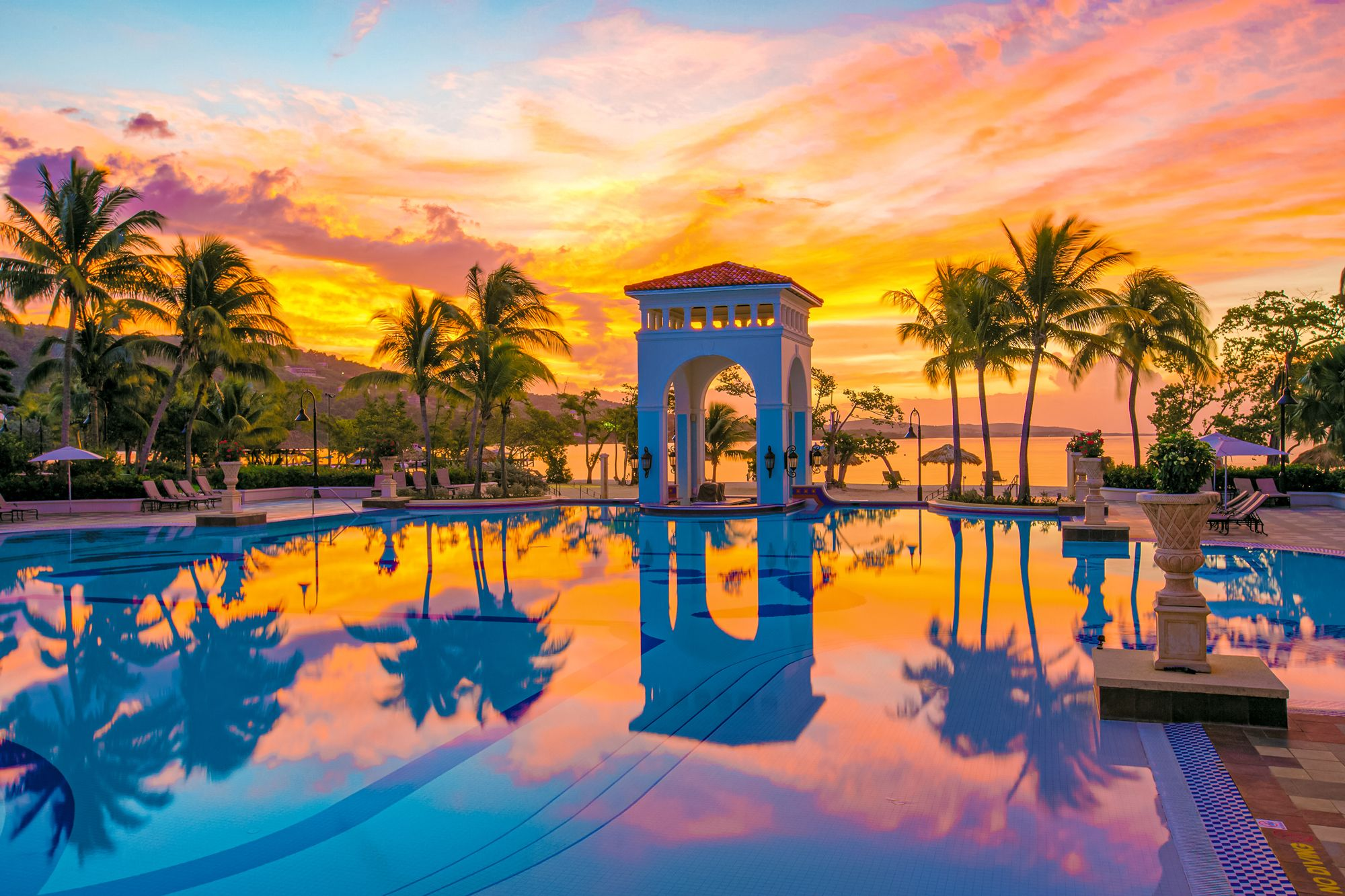 Sandals South Coast Jamaica Sunrise Main Pool