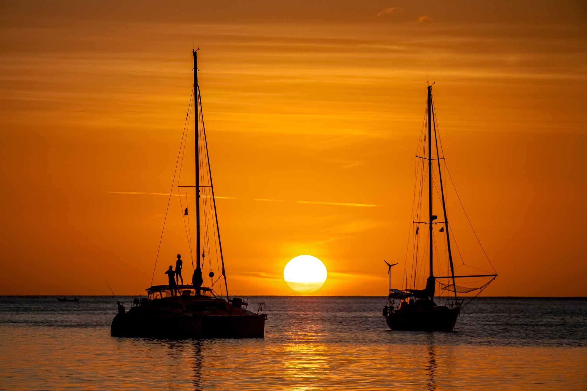 Day Trip Catamaron Sunset Saint Lucia
