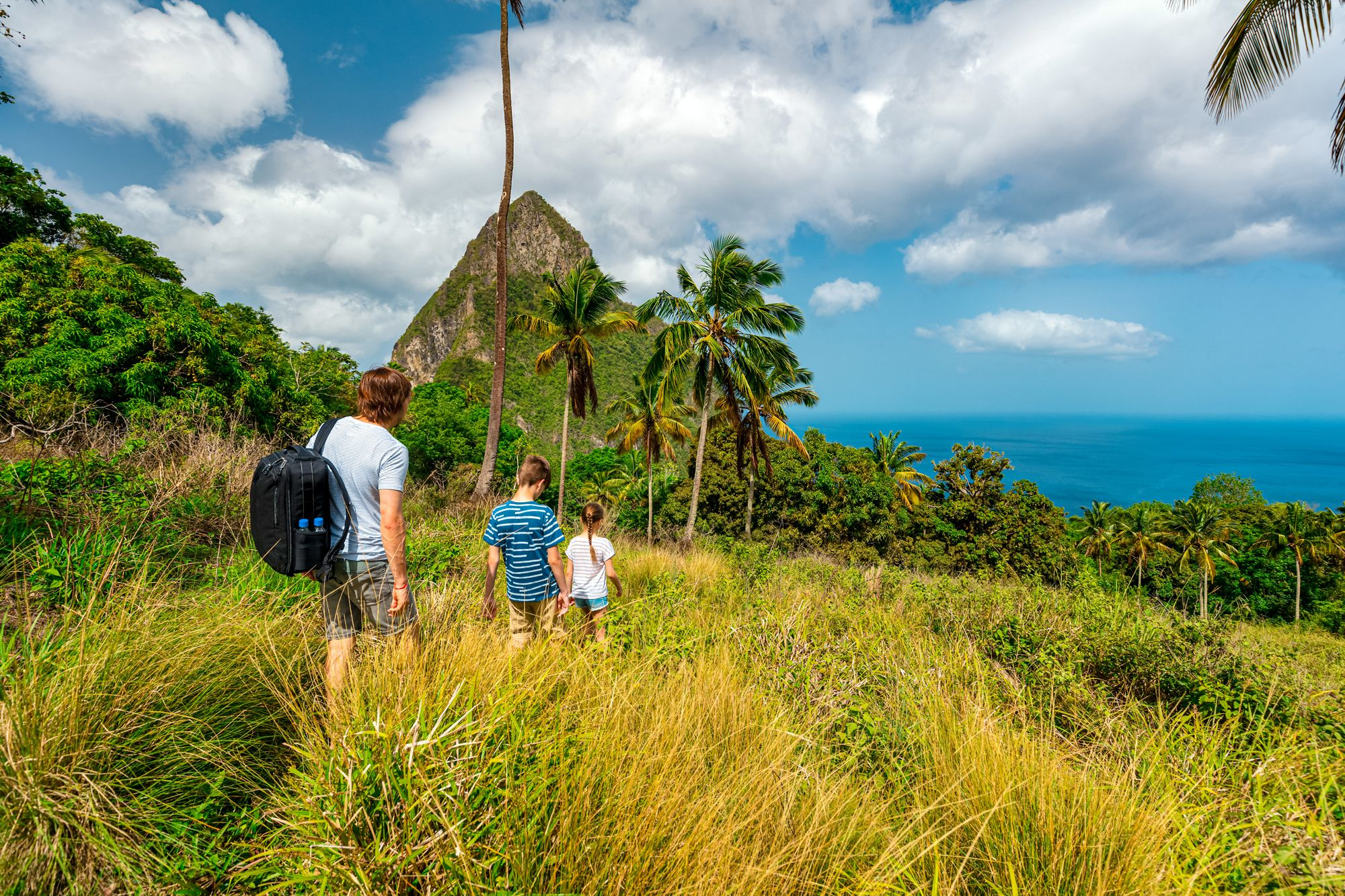 Hiking Saint Lucia Pitons Mountain