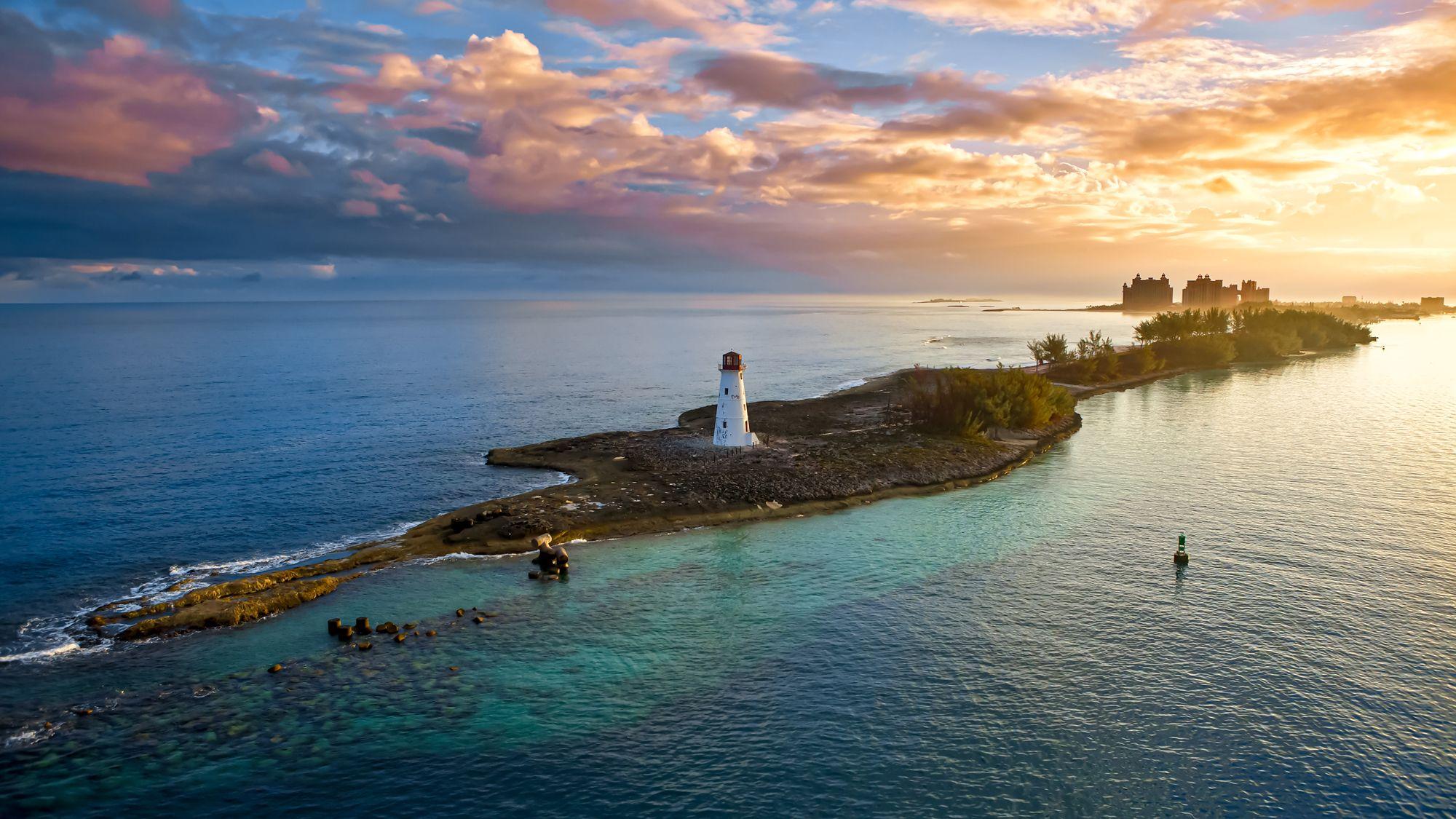 Nassau Paradise Island Bahamas Sunset