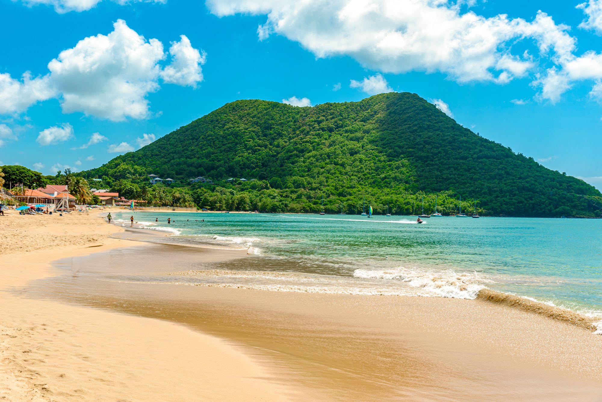 Reduit Beach Saint Lucia