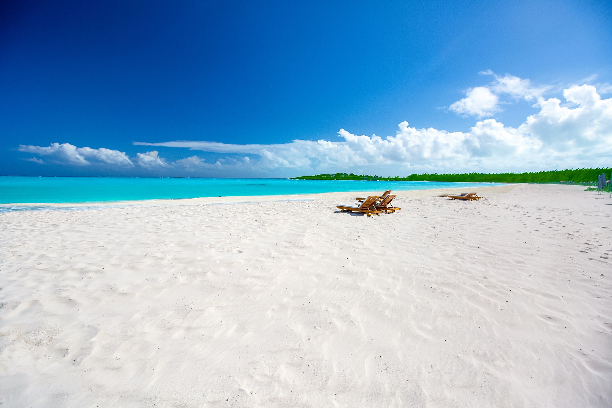 Sandals Emerald Bay White Sand Beach